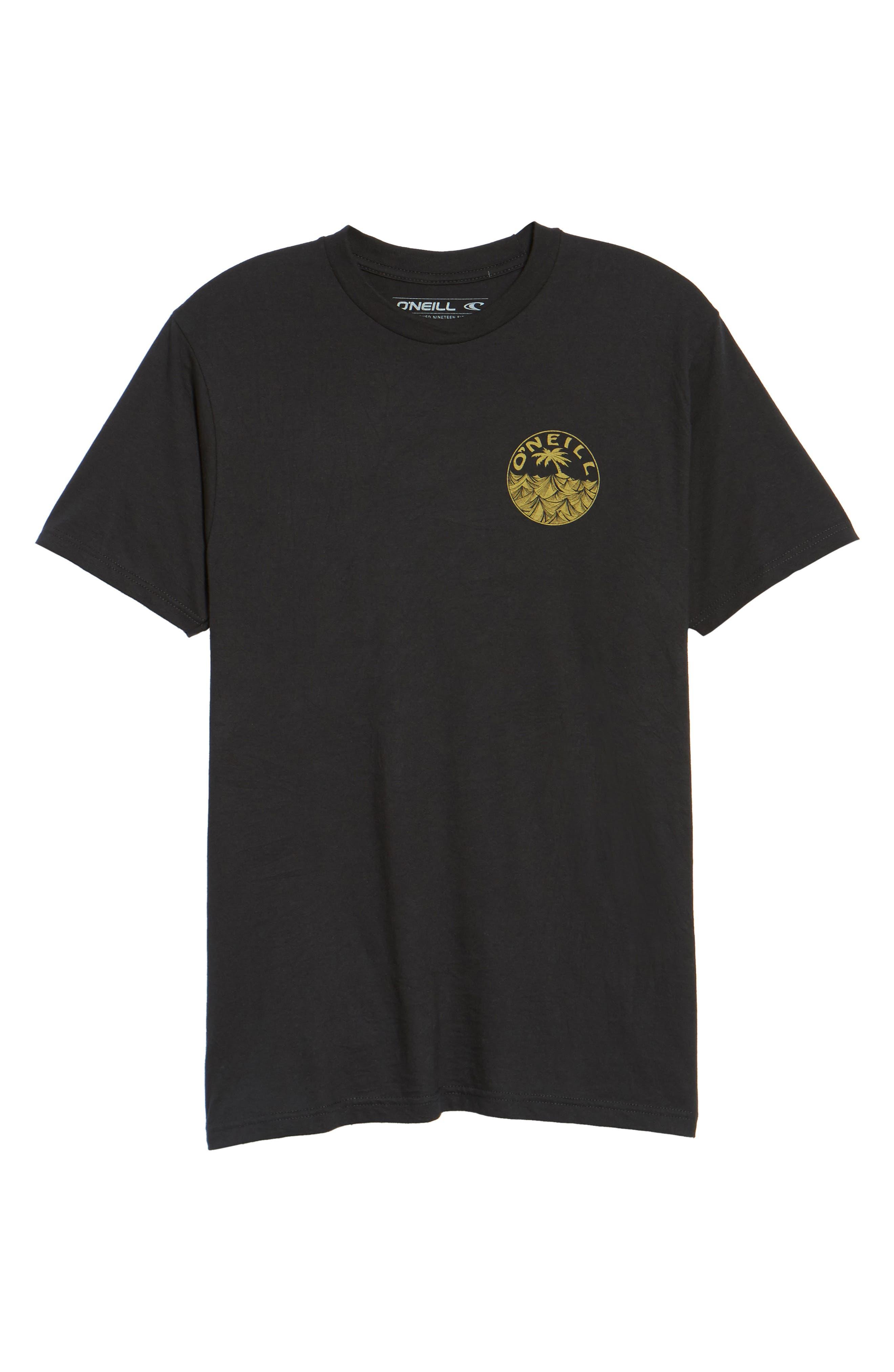 Waver Graphic T-Shirt,                             Alternate thumbnail 6, color,                             001