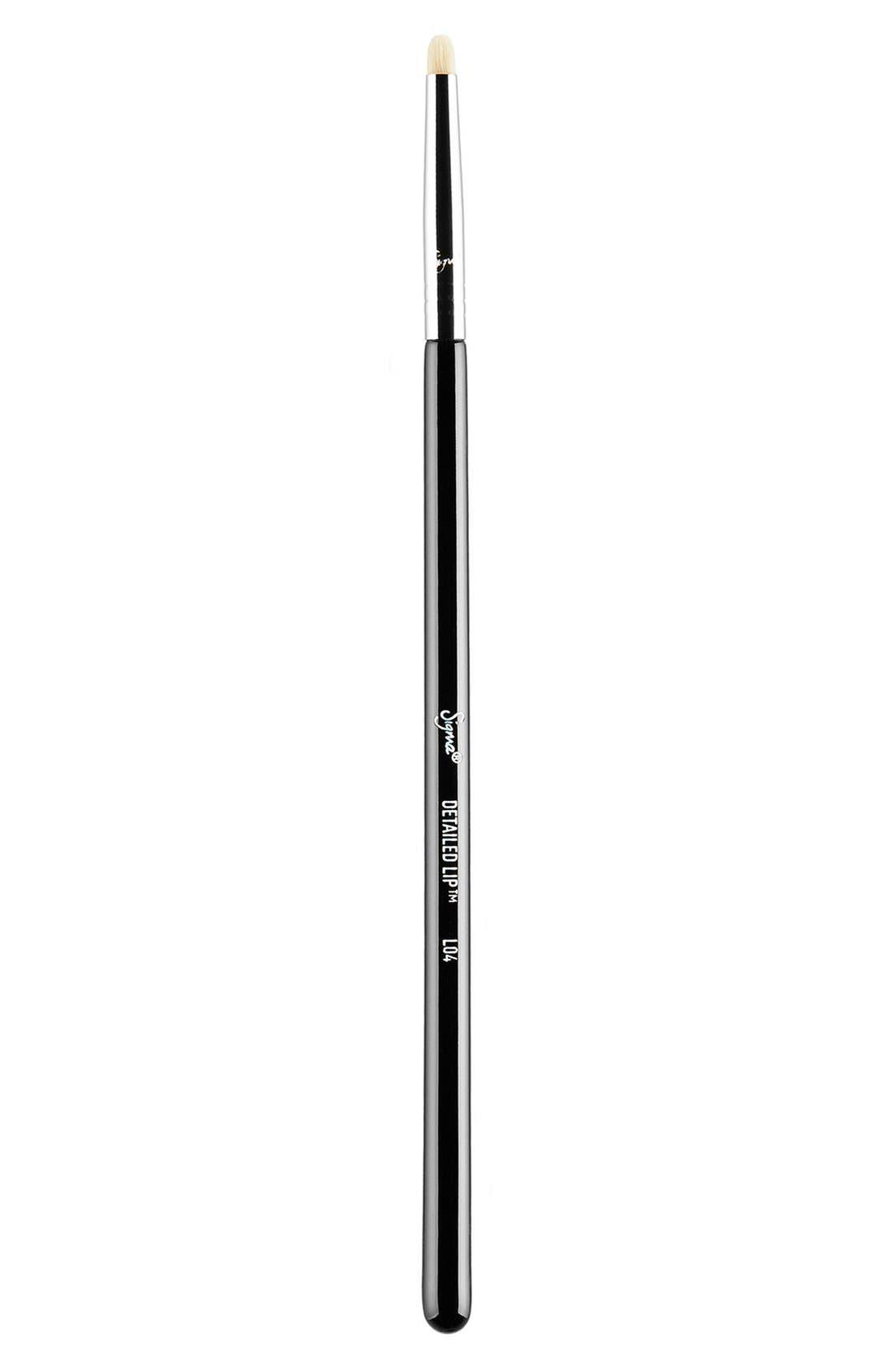 L04 Detailed Lip Brush,                             Main thumbnail 1, color,                             NO COLOR