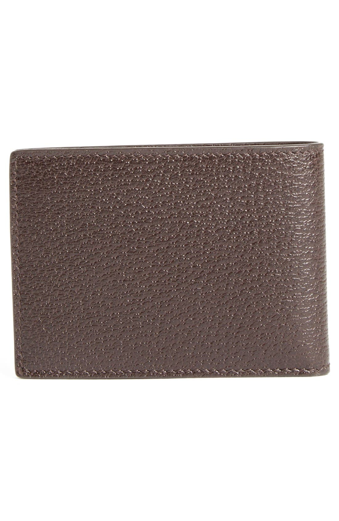 Marmont Leather Wallet,                             Alternate thumbnail 4, color,