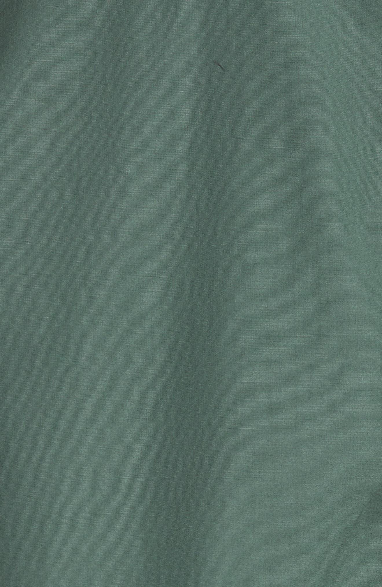 Cotton Poplin Trapeze Shirt,                             Alternate thumbnail 5, color,                             310
