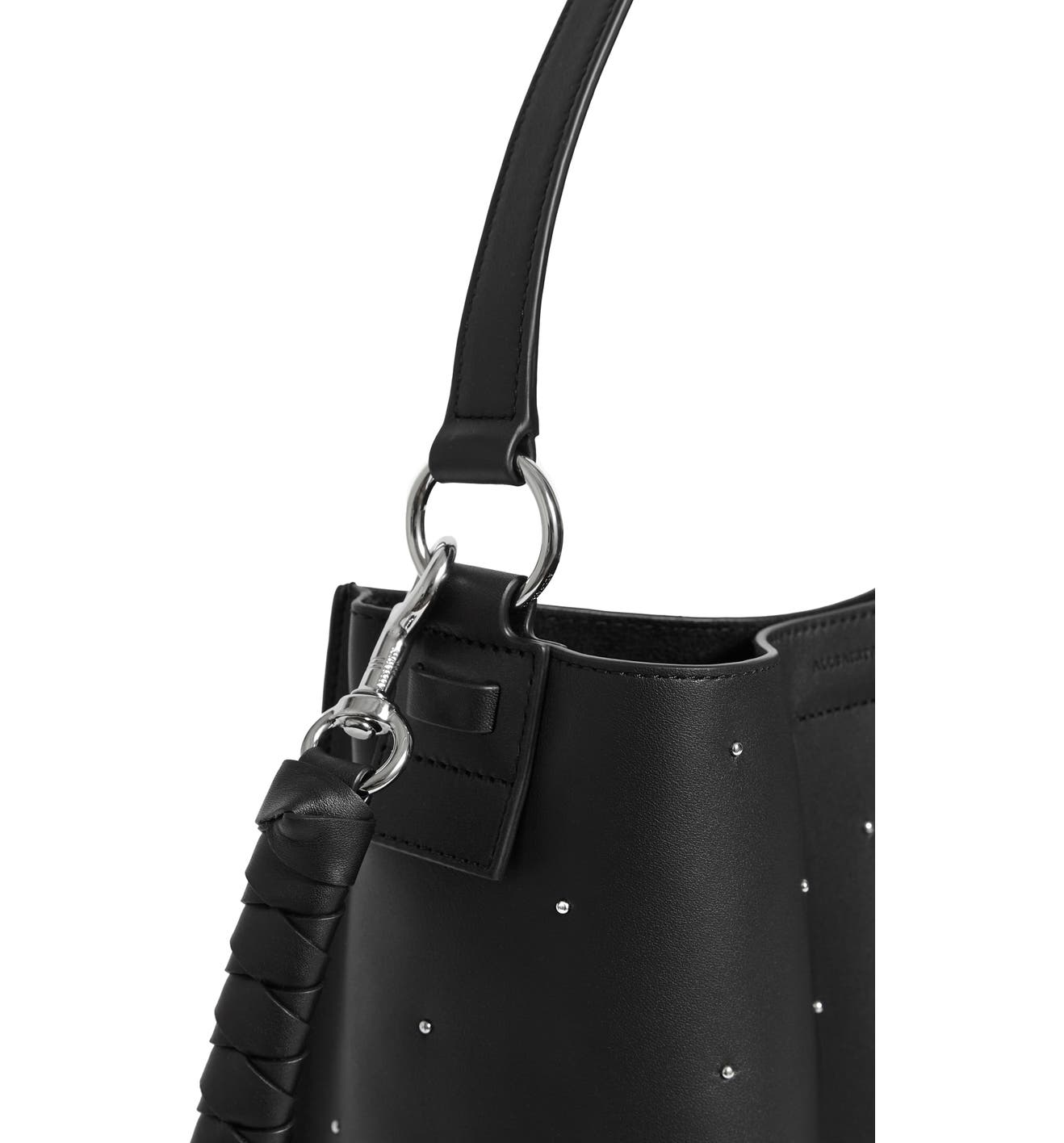 ALLSAINTS Small Kathi Studded North South Leather Tote  40bbe11d40517
