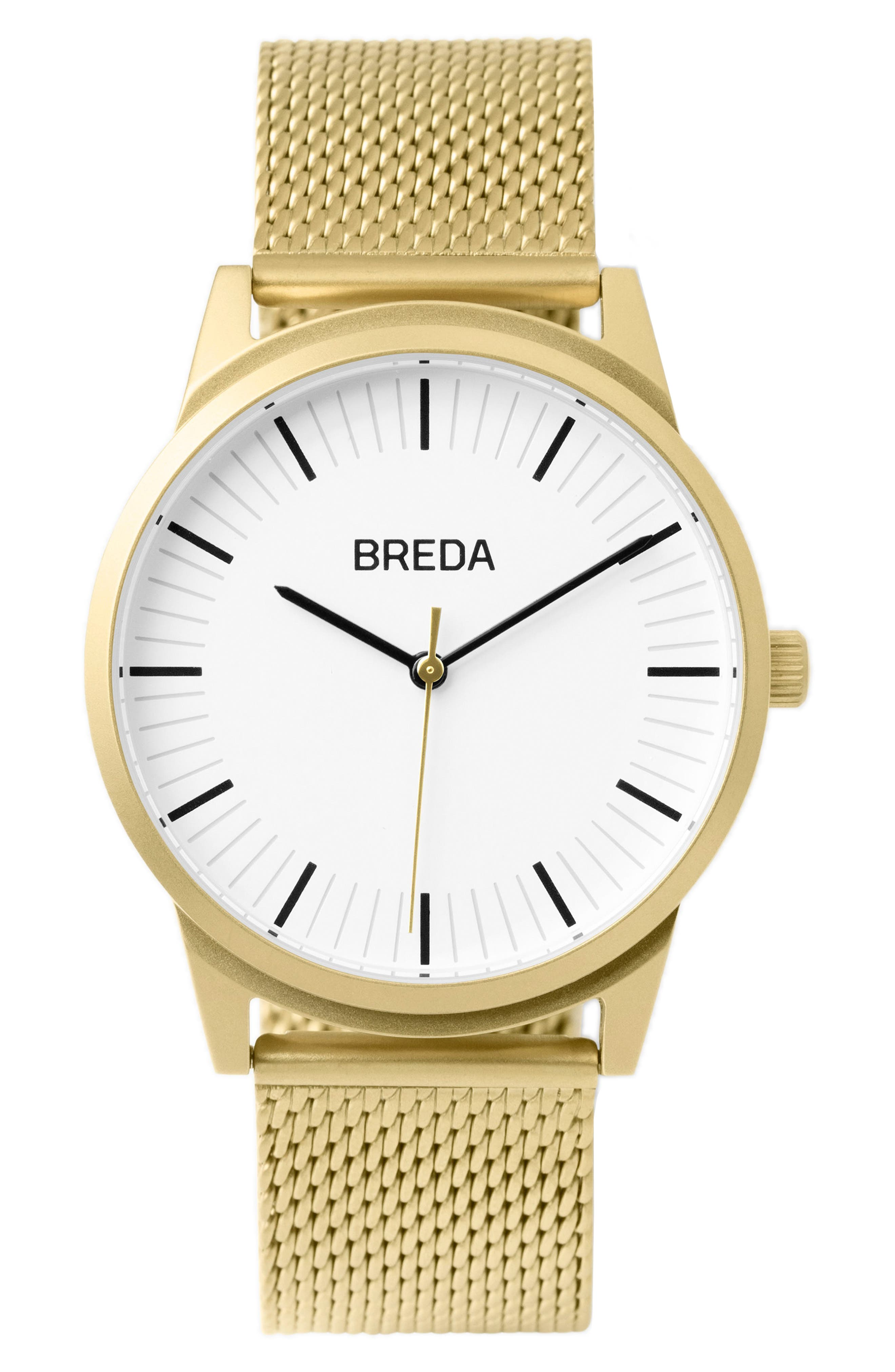 Bresson Mesh Strap Watch, 39mm,                             Main thumbnail 3, color,