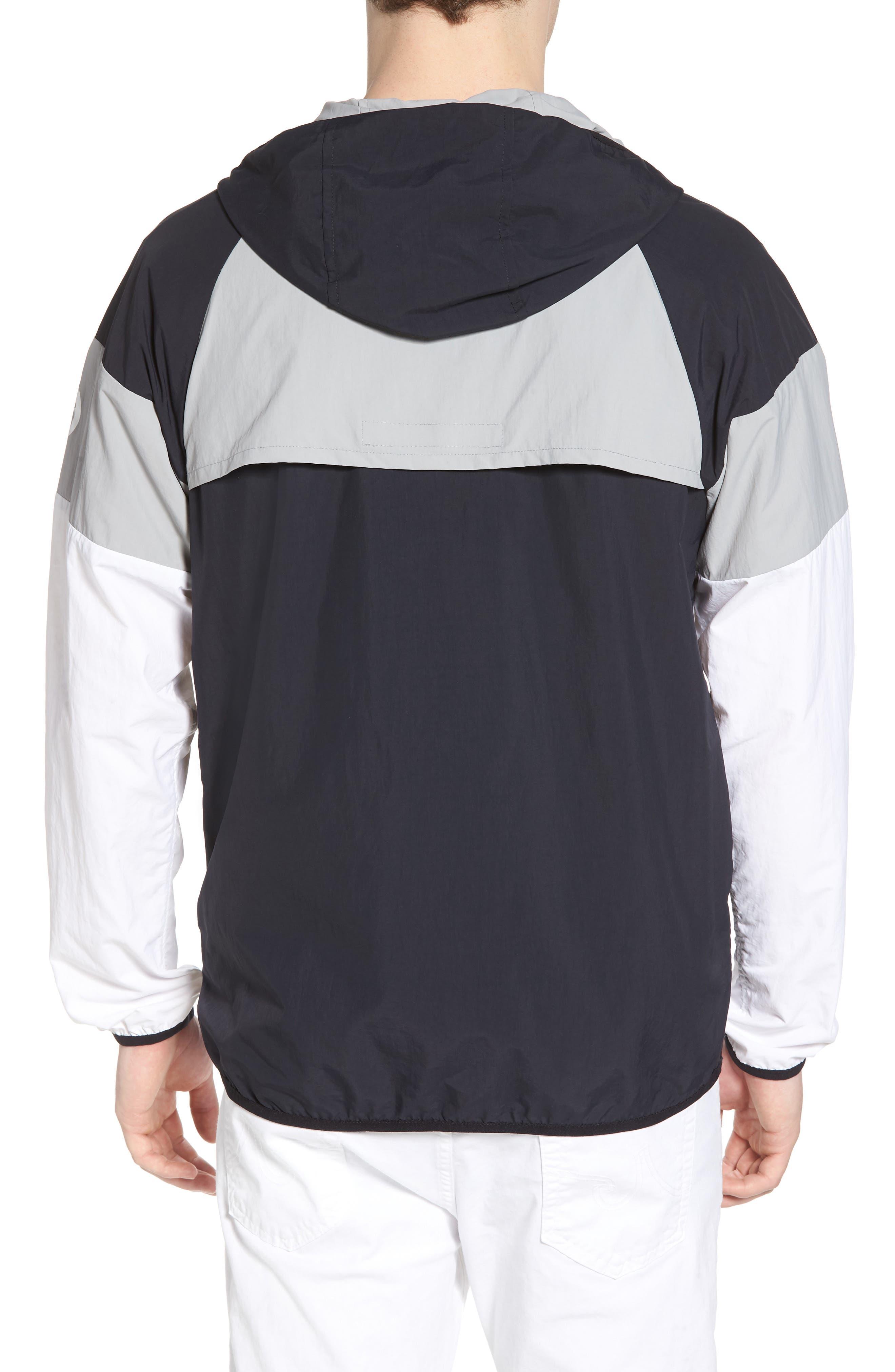 Block Pullover Jacket,                             Alternate thumbnail 2, color,                             001
