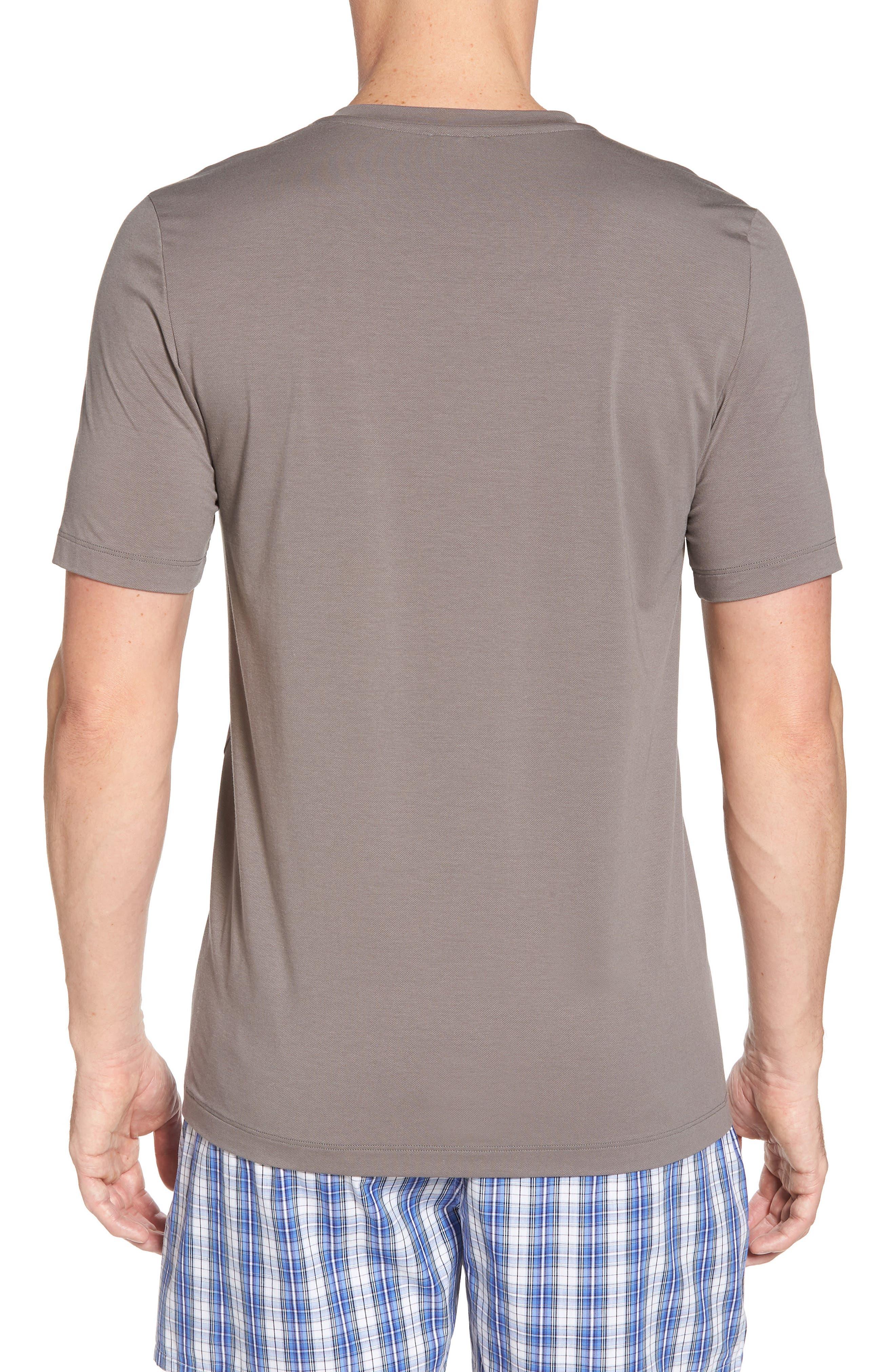 Liam V-Neck T-Shirt,                             Alternate thumbnail 2, color,                             MOONROCK