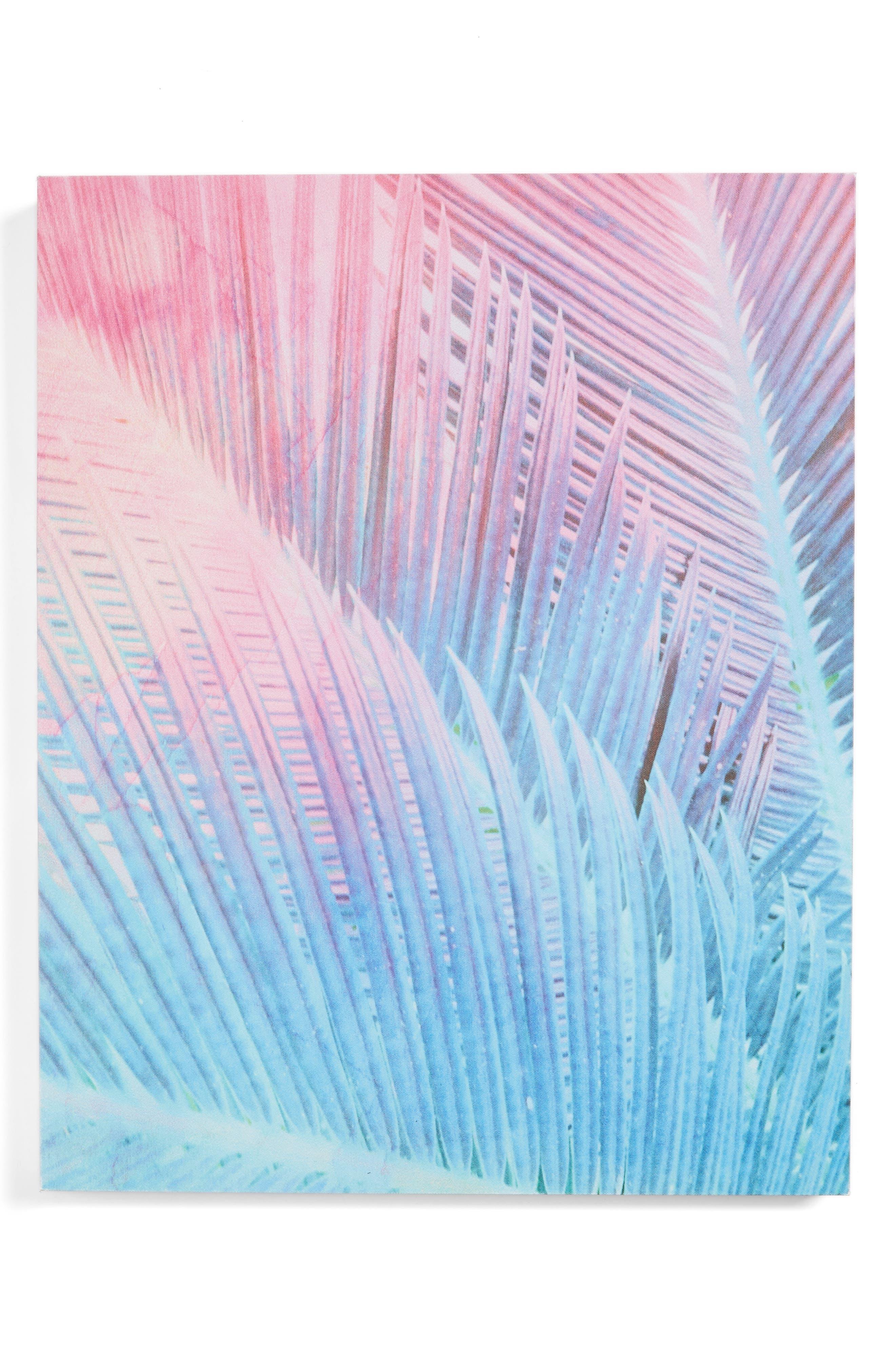 Palm 1 Canvas Wall Art,                             Main thumbnail 1, color,                             650
