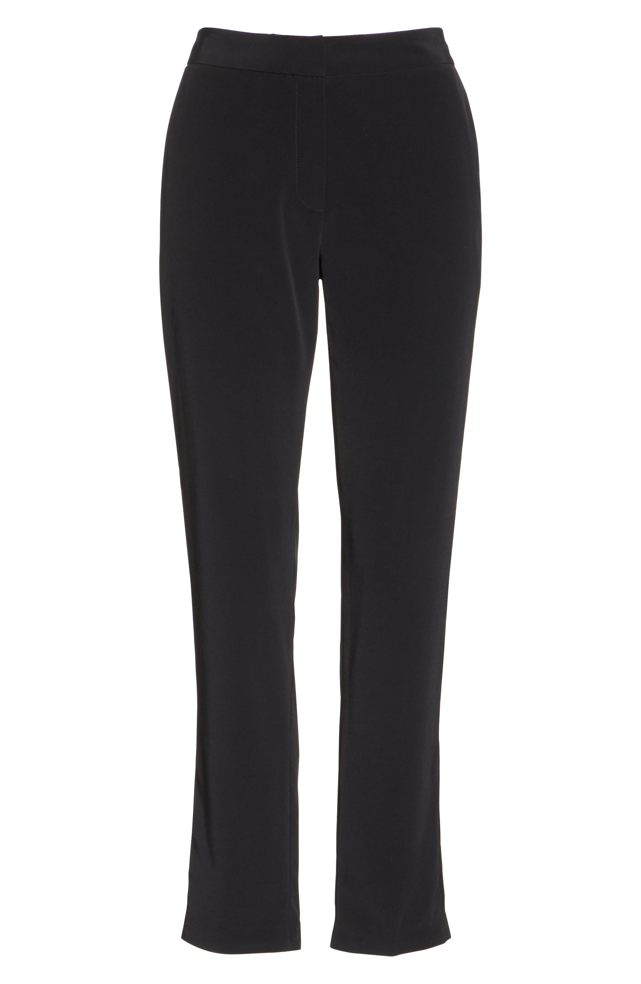 CO,                             Essentials Skinny Pants,                             Alternate thumbnail 6, color,                             BLACK