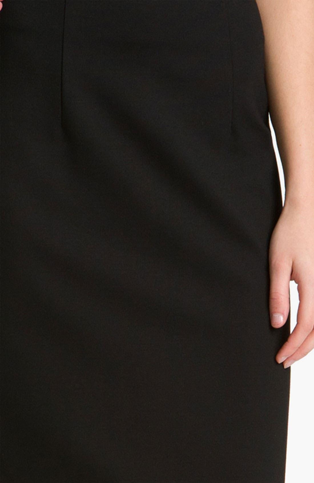 Belted Ponte Skirt,                             Alternate thumbnail 25, color,