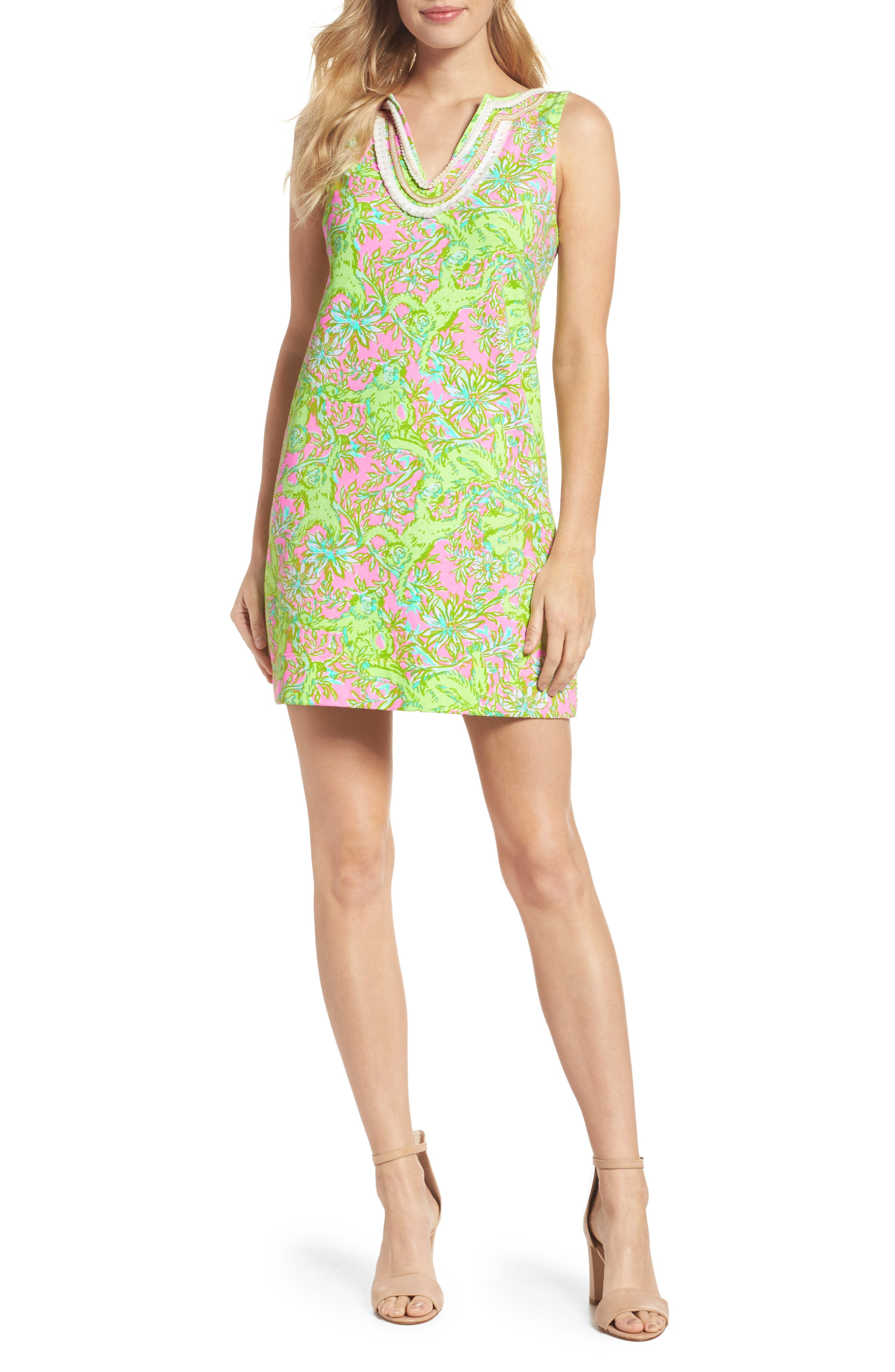 Harper Shift Dress,                         Main,                         color, 658