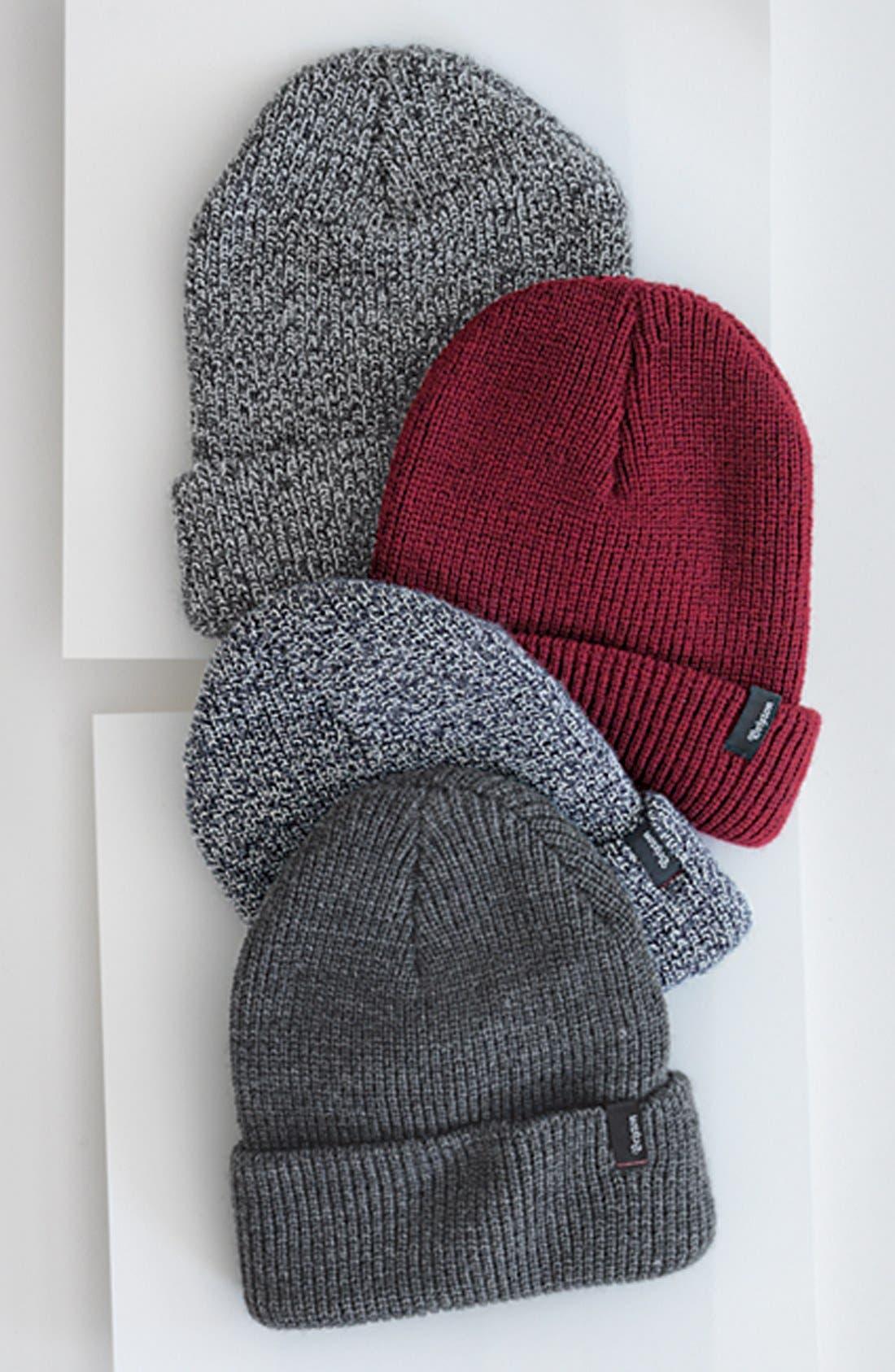 'Heist' Rib Knit Cap,                             Alternate thumbnail 12, color,