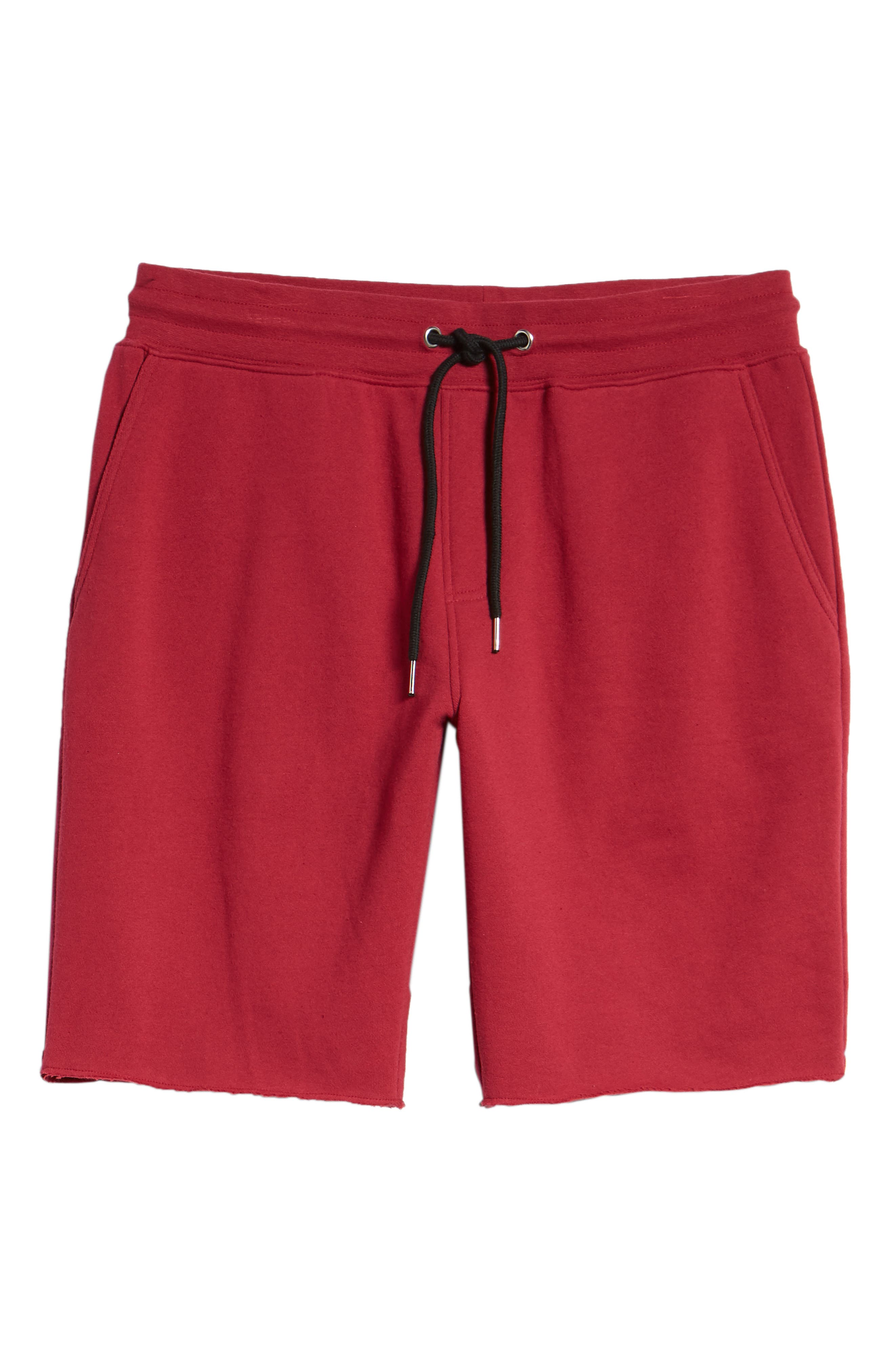 THE RAIL,                             Fleece Shorts,                             Alternate thumbnail 6, color,                             601
