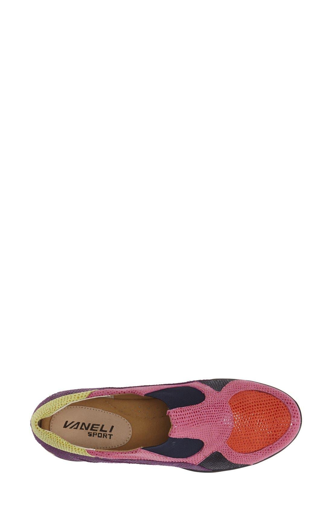 'Attie' Colorblock Slip-On Flat,                             Alternate thumbnail 20, color,