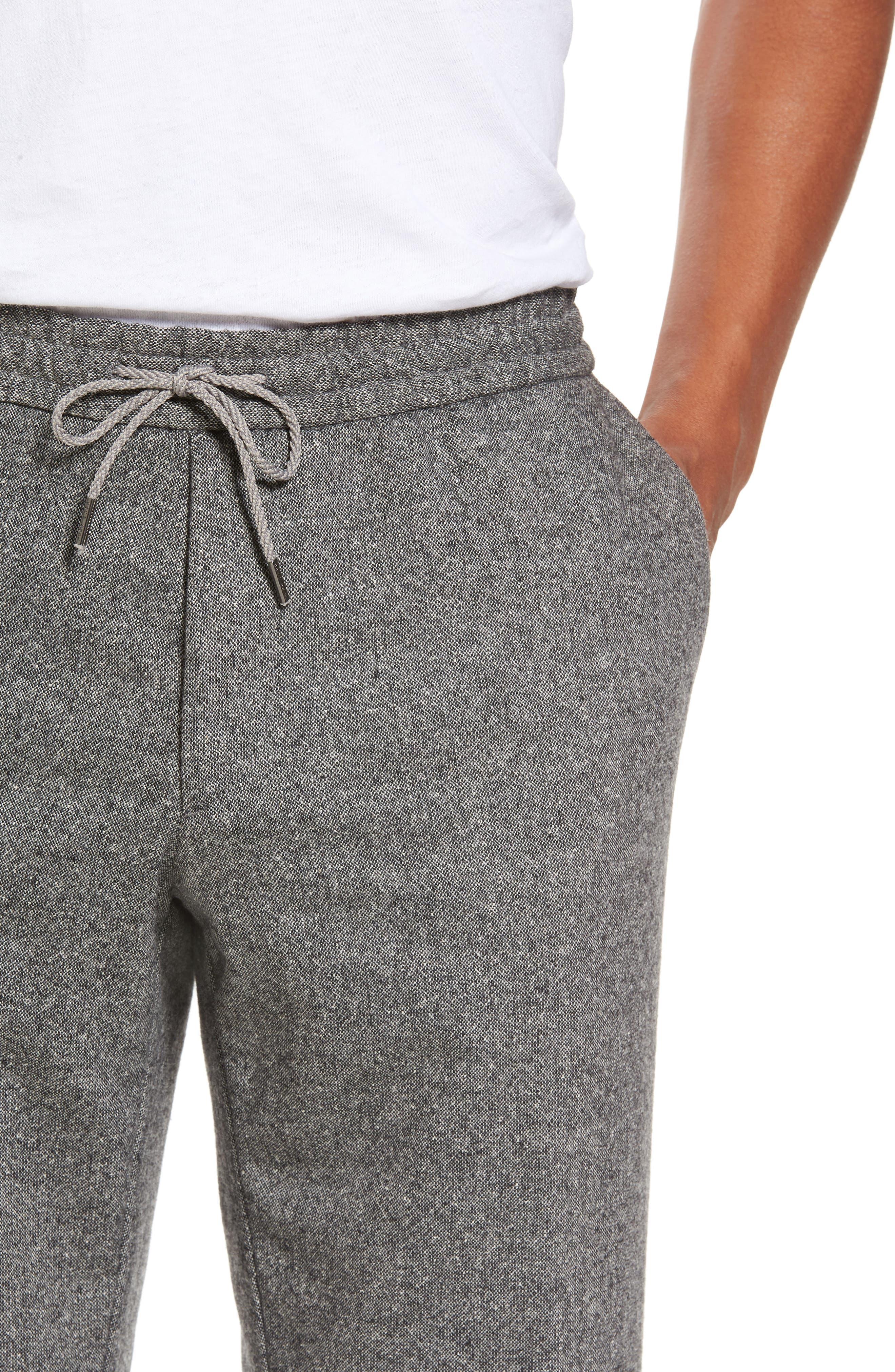 Barne Drawstring Waist Trousers,                             Alternate thumbnail 4, color,