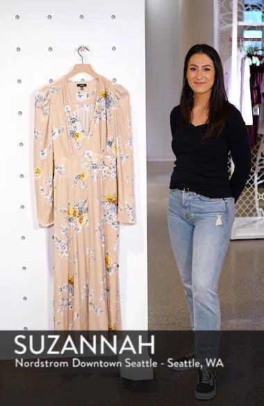 Quinn Wrap Midi Dress, sales video thumbnail