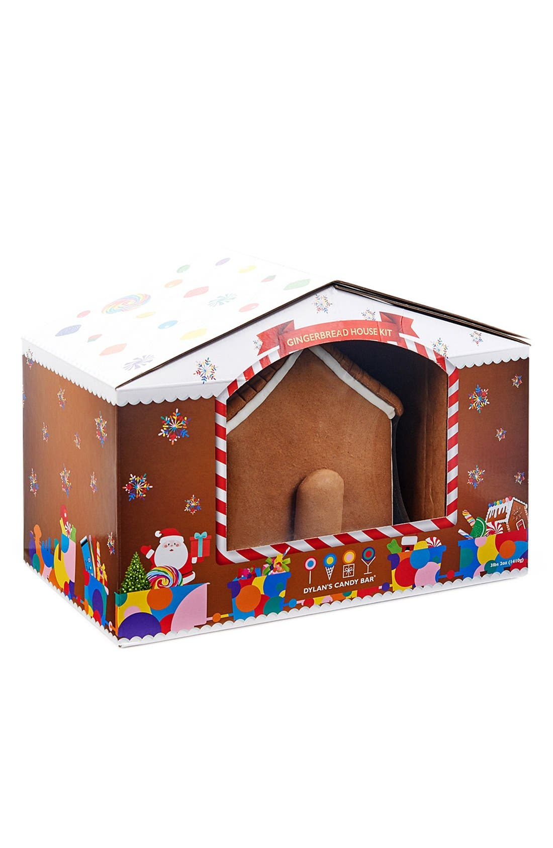 Gingerbread House Kit, Main, color, 200
