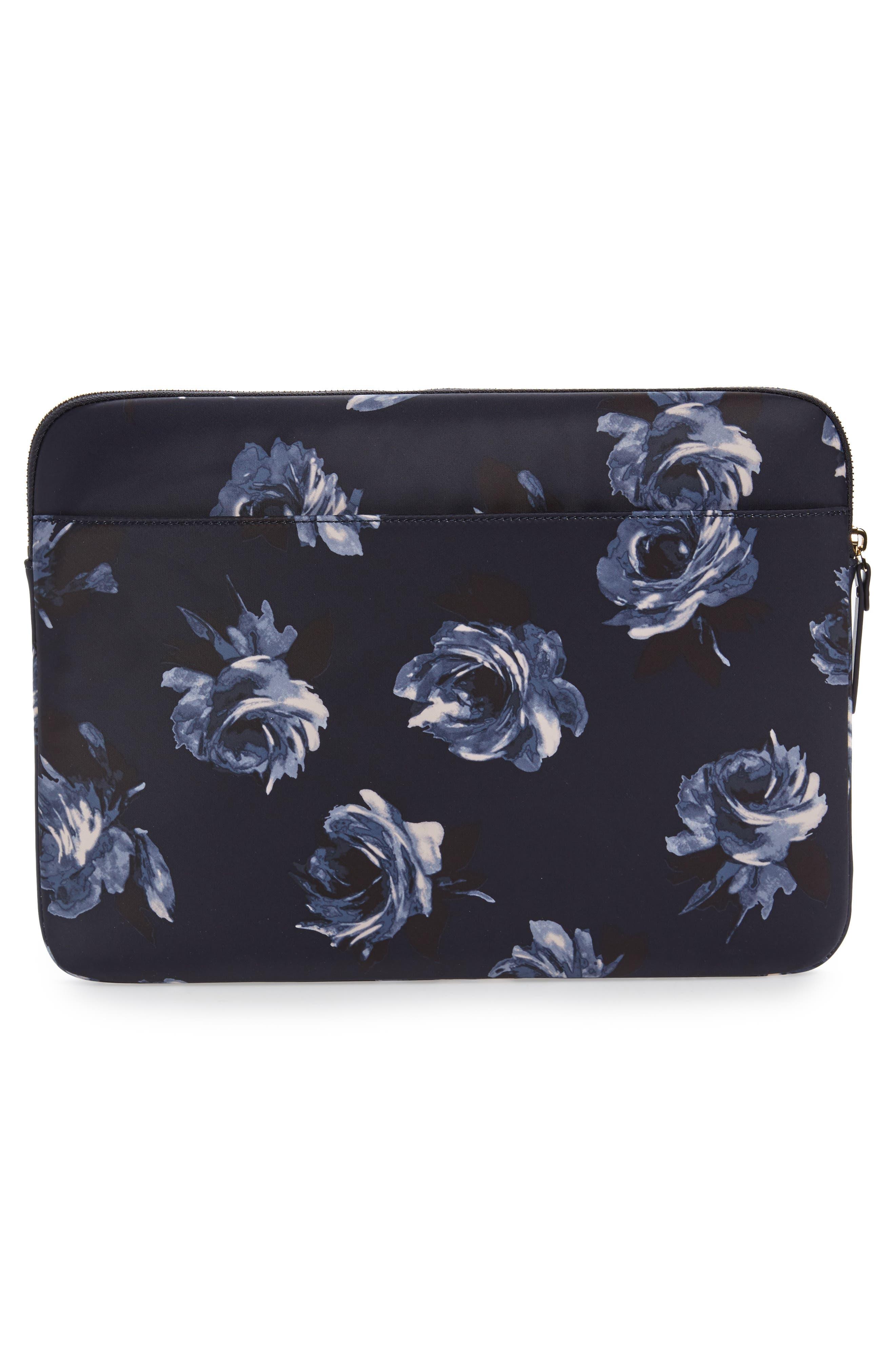 night rose 13-Inch laptop sleeve,                             Alternate thumbnail 3, color,