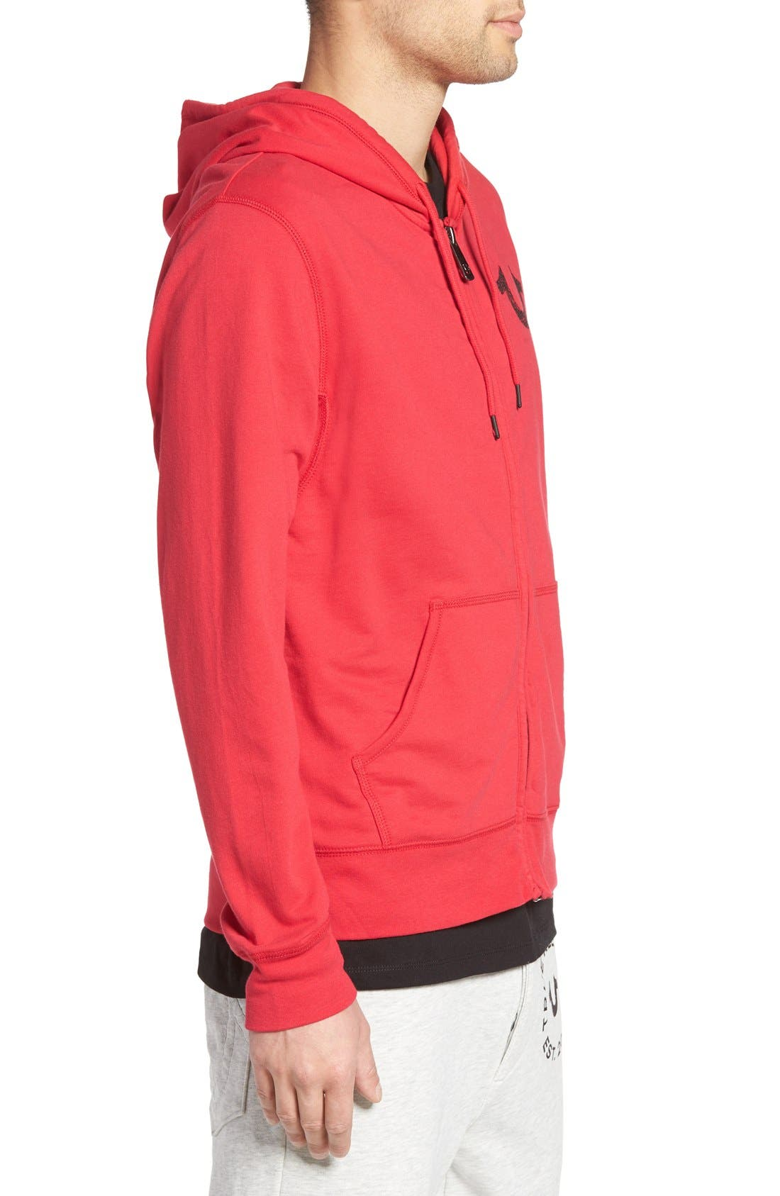 Zip Hoodie,                             Alternate thumbnail 30, color,