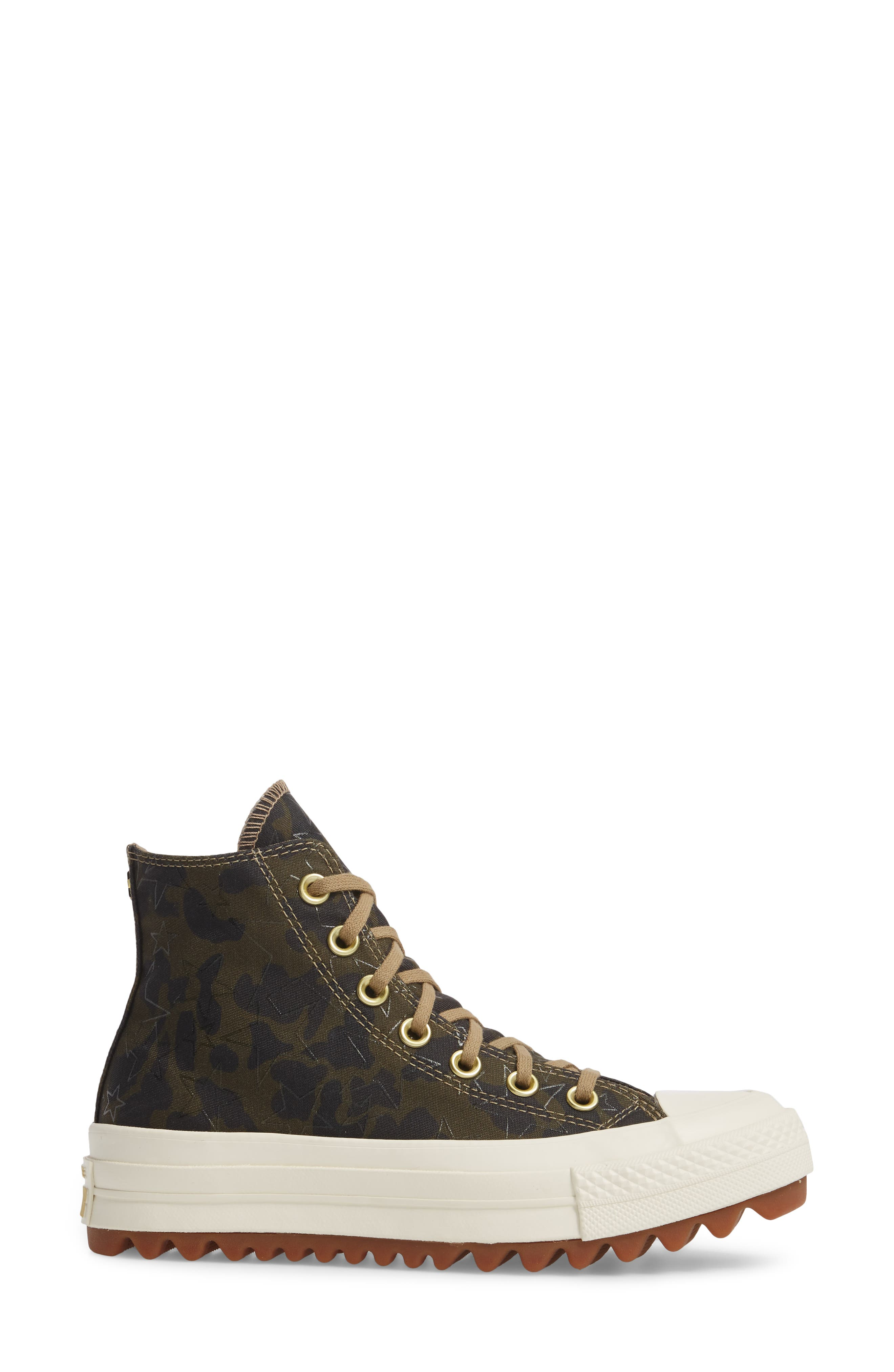 Chuck Taylor<sup>®</sup> All Star<sup>®</sup> Lift Ripple High Top Sneaker,                             Alternate thumbnail 3, color,                             300