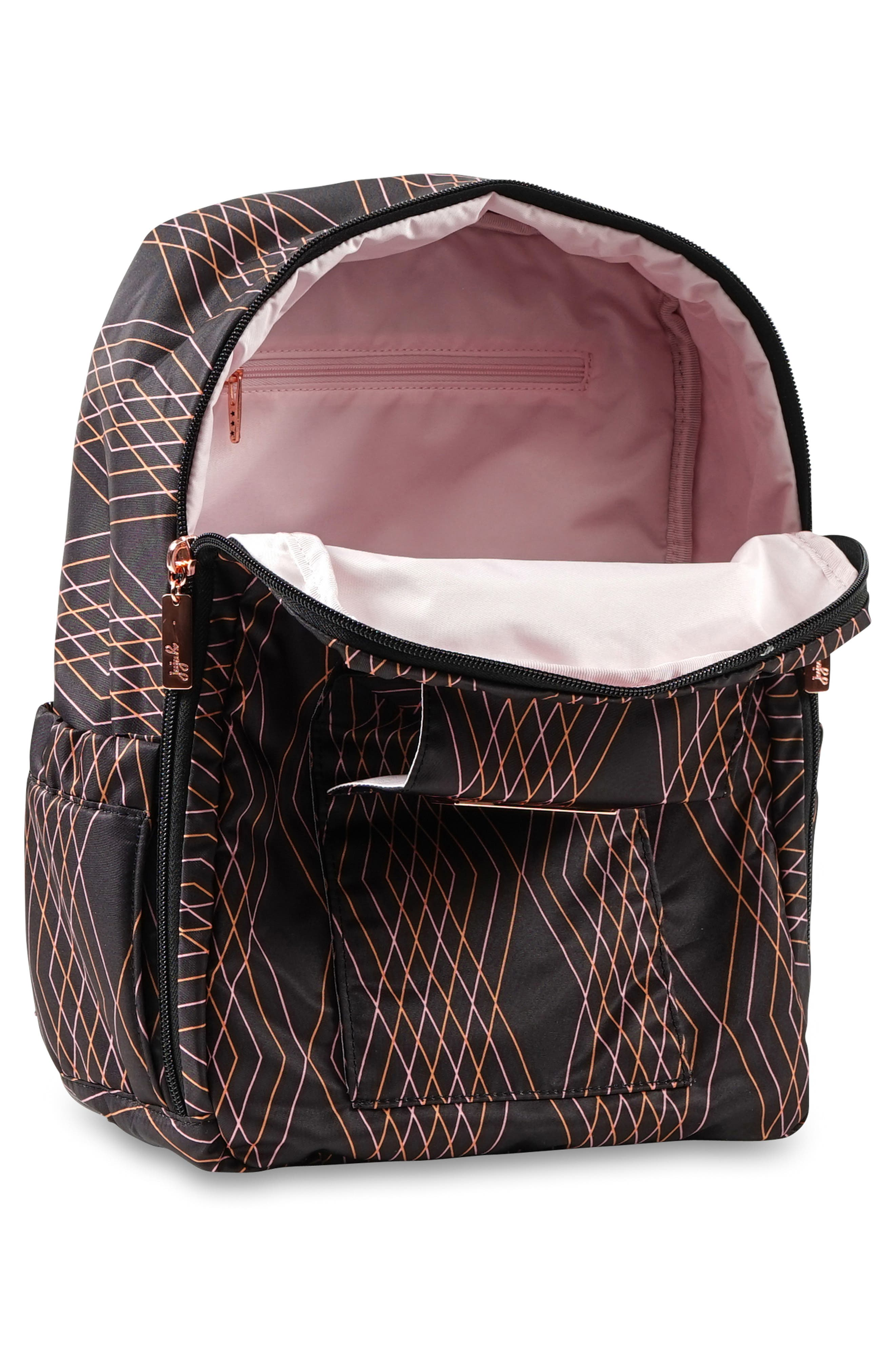 MiniBe Rose Backpack,                             Alternate thumbnail 3, color,                             PRISM ROSE