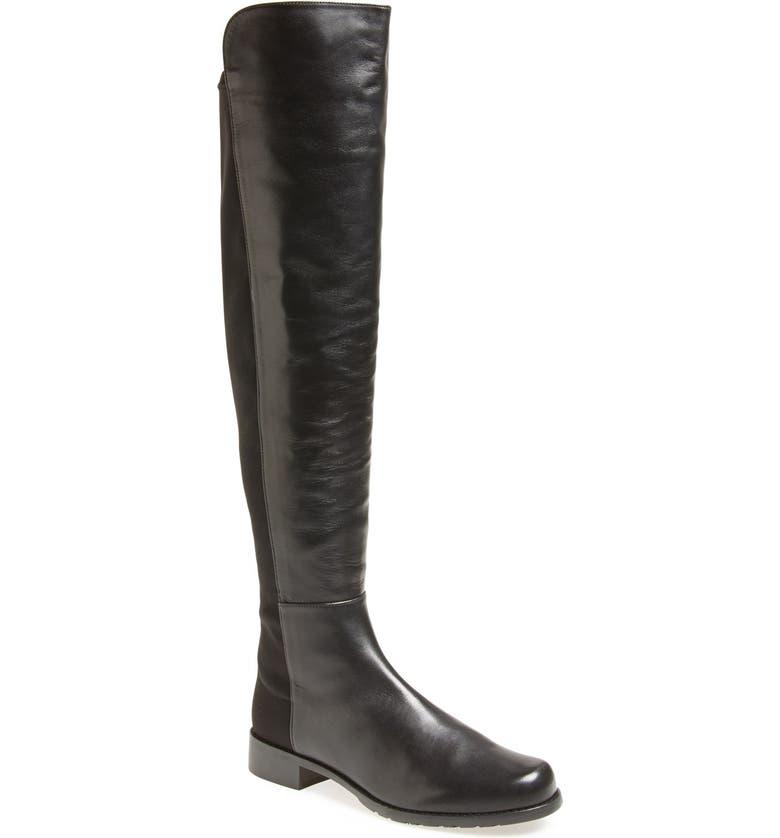 21d3625d47e Stuart Weitzman 5050 Over the Knee Leather Boot (Women)