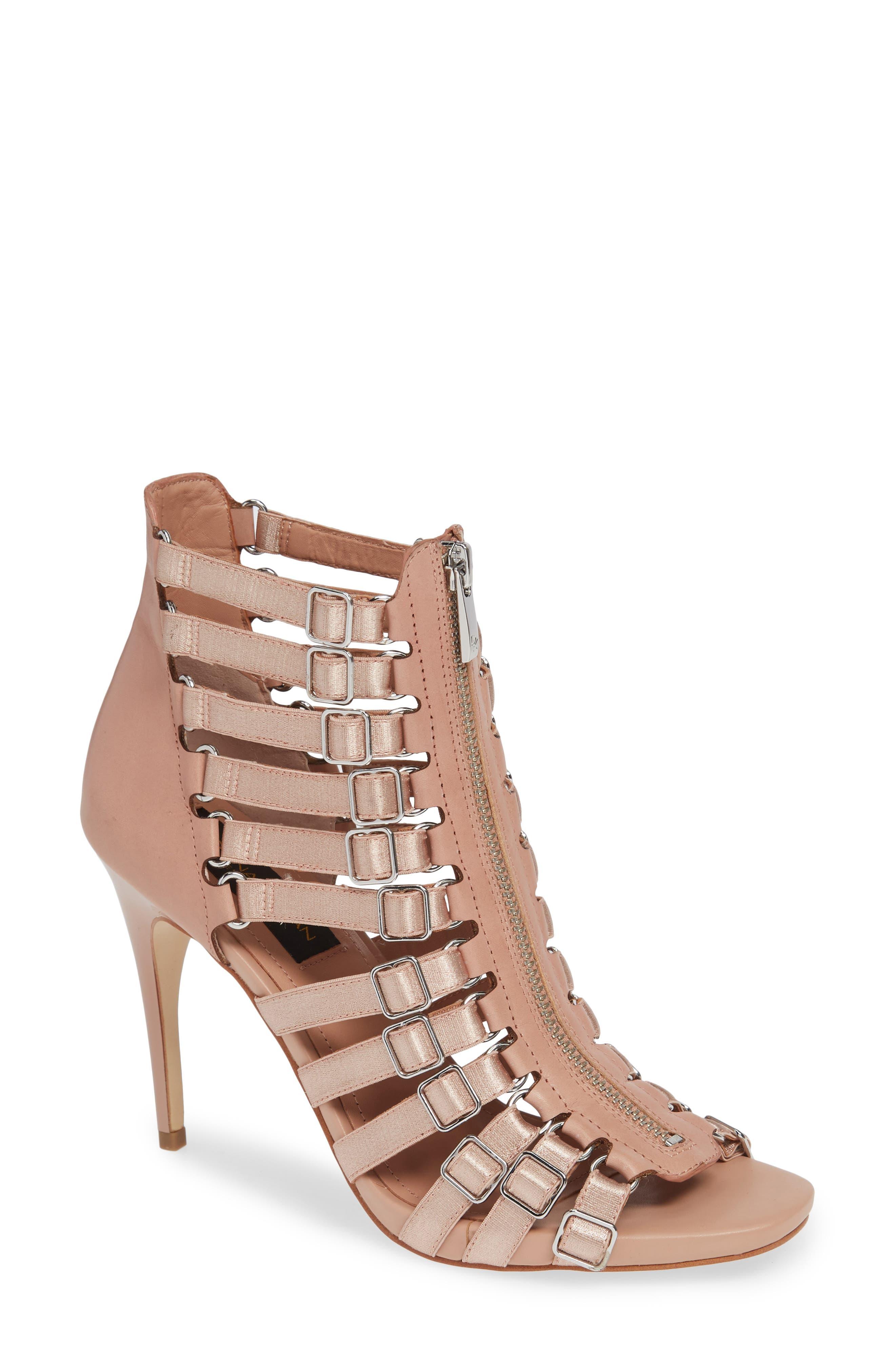 Donna Karan Kat High Sandal, Pink