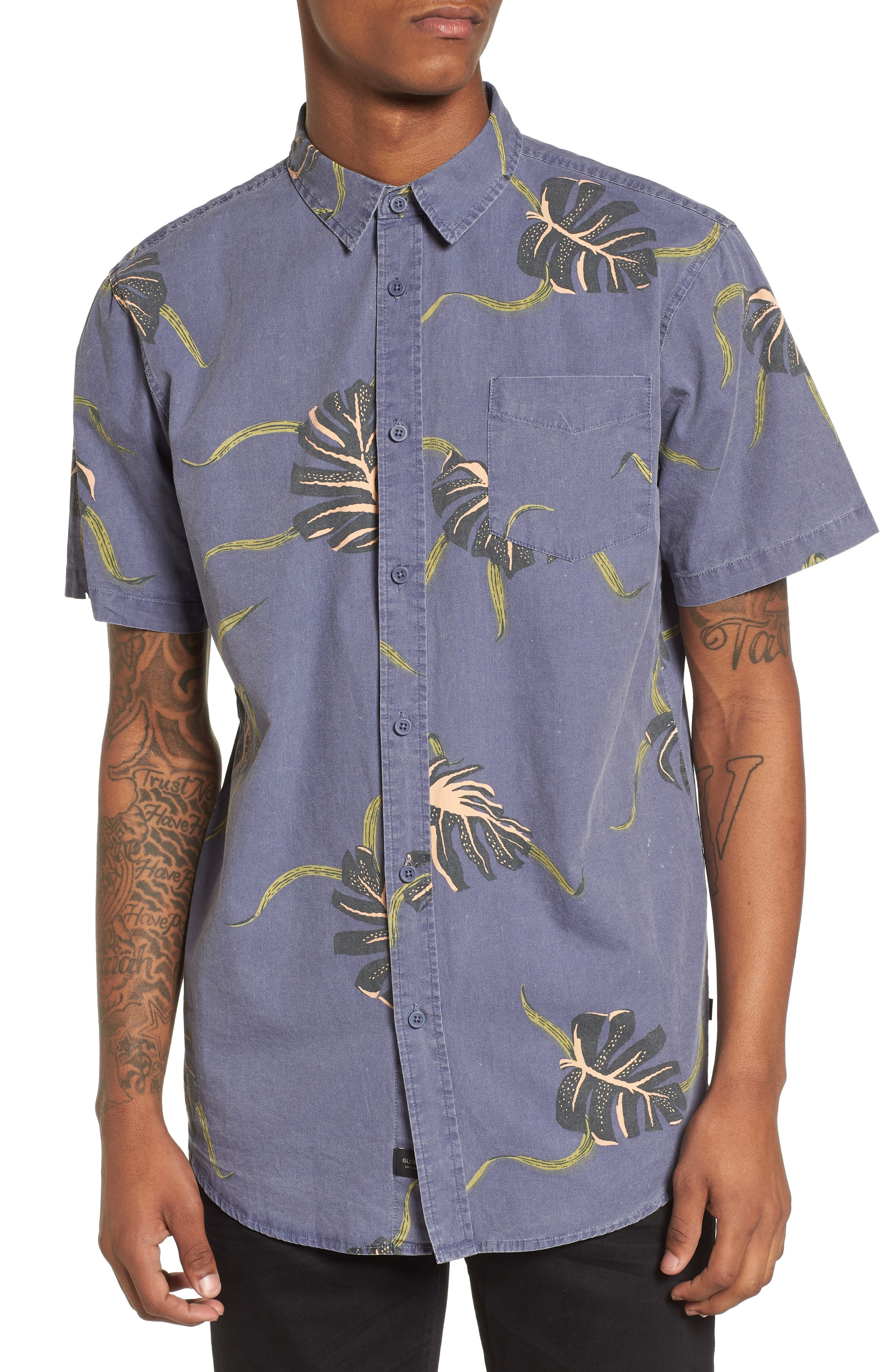 Pointer Woven Shirt,                         Main,                         color, 401