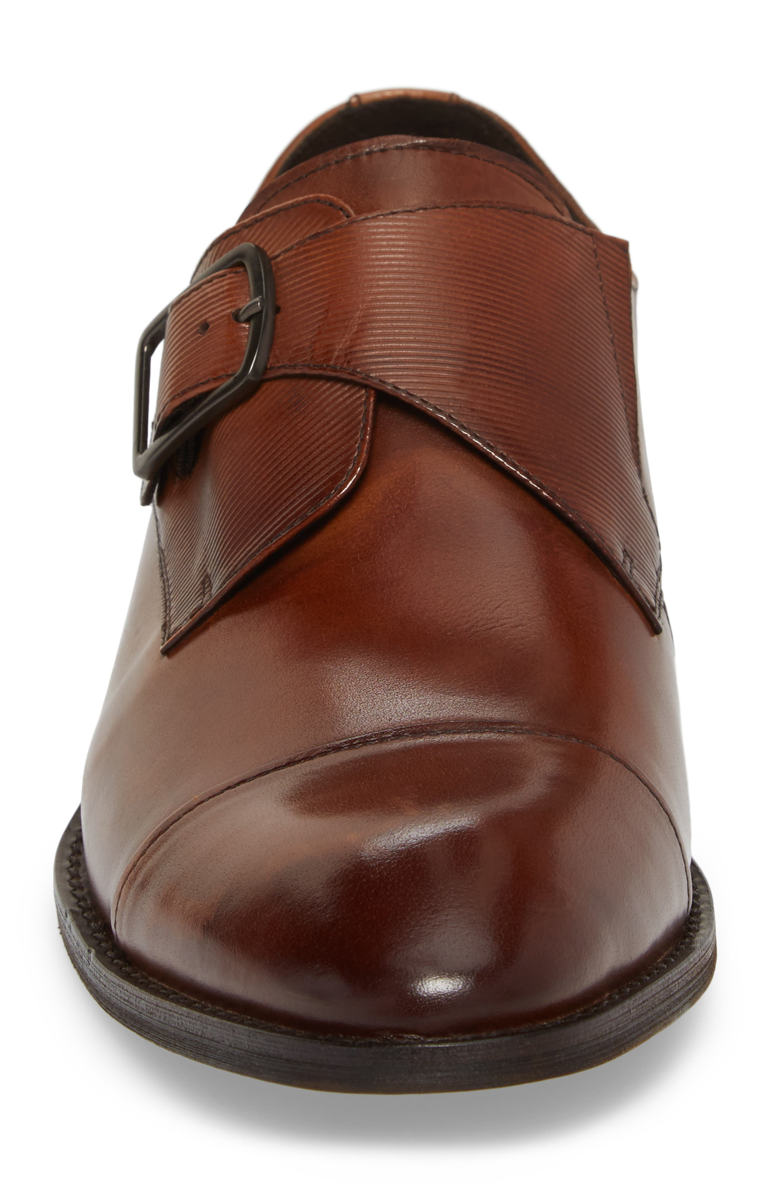 KENNETH COLE NEW YORK,                             Courage Monk Strap Shoe,                             Alternate thumbnail 4, color,                             200