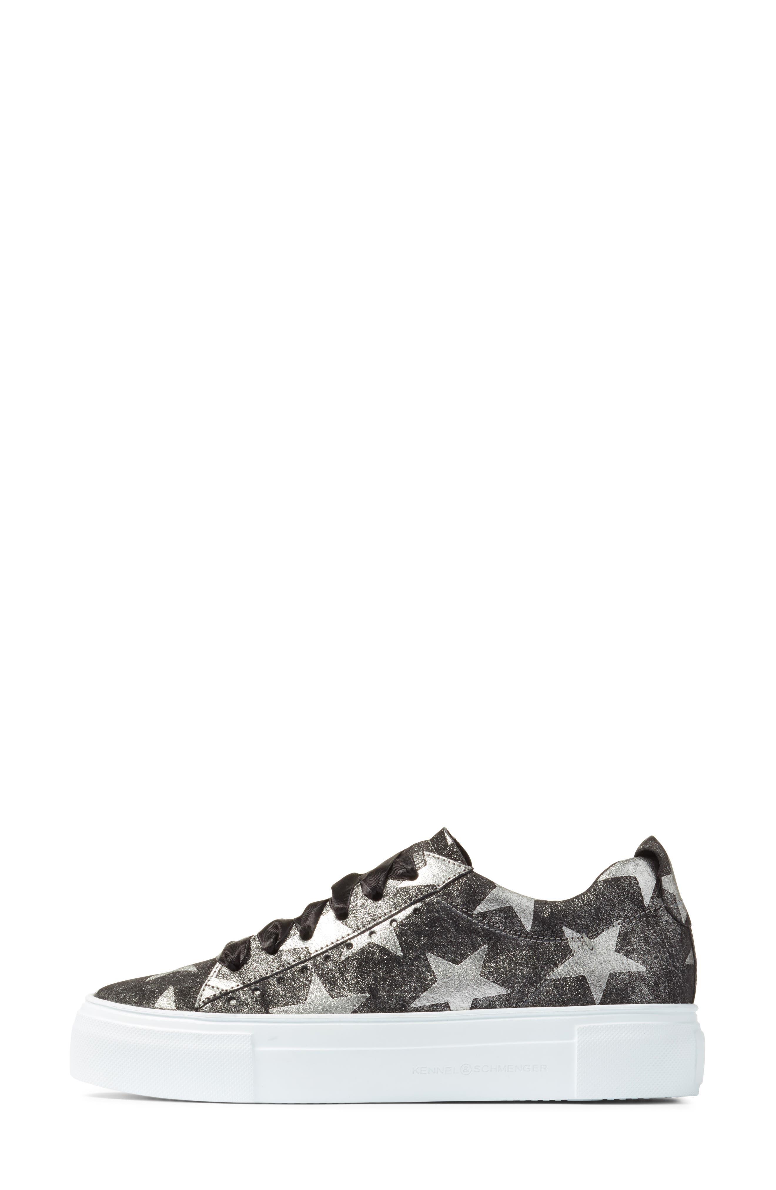 Kennel & Schmenger Big Star Sneaker,                             Alternate thumbnail 3, color,                             001