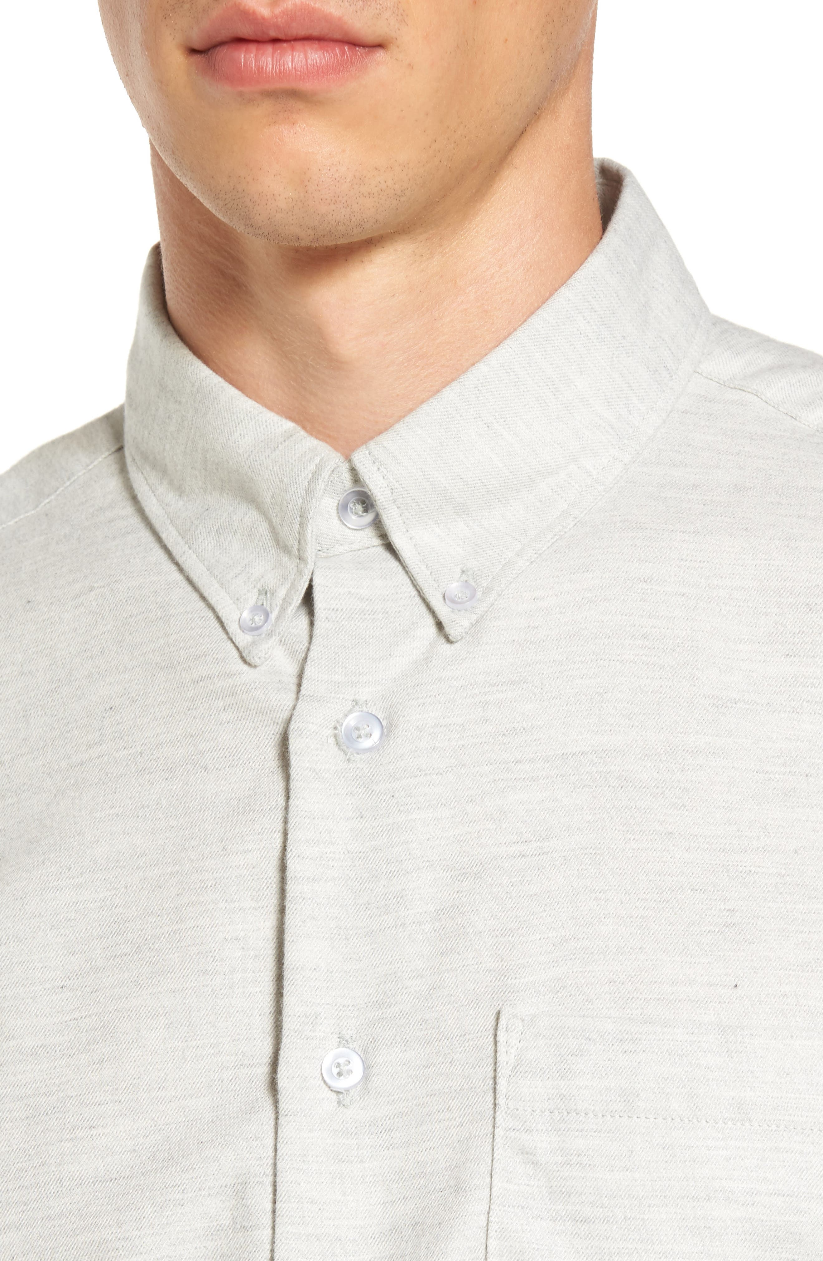 Twill Woven Shirt,                             Alternate thumbnail 8, color,