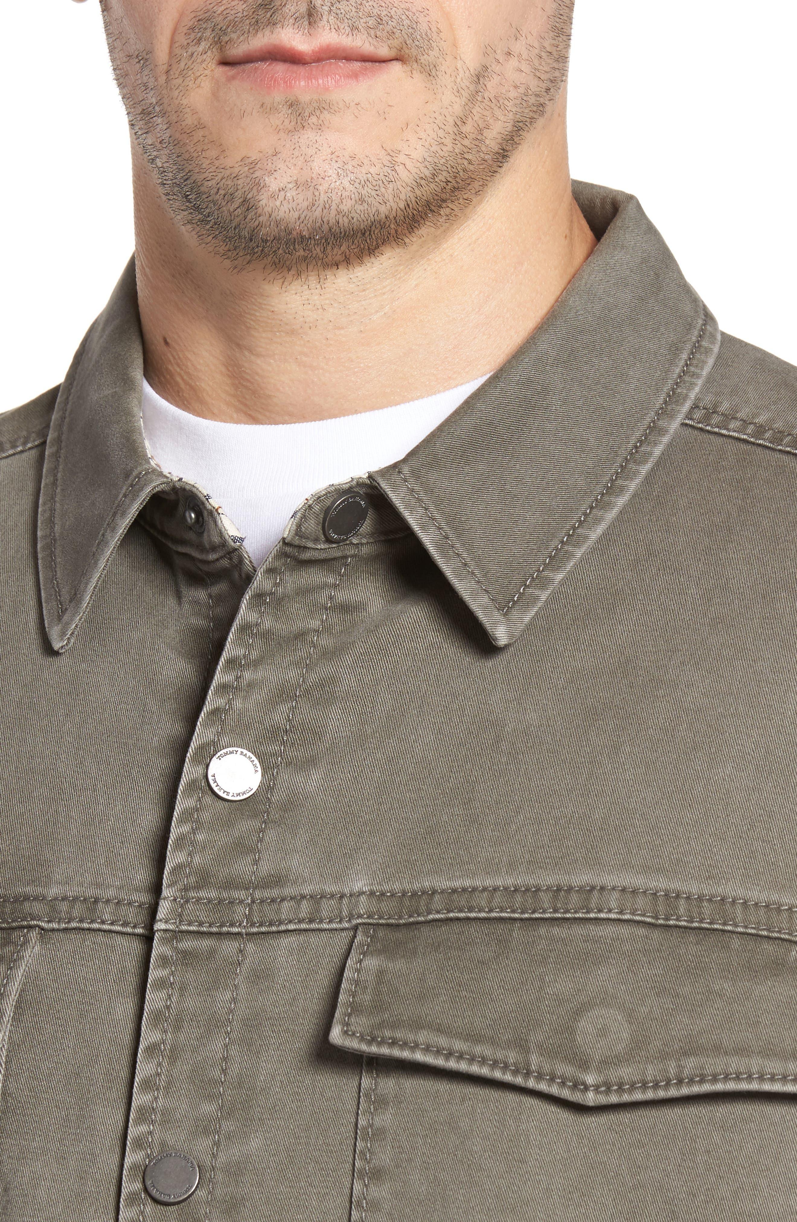 Sea Glass Shirt Jacket,                             Alternate thumbnail 4, color,