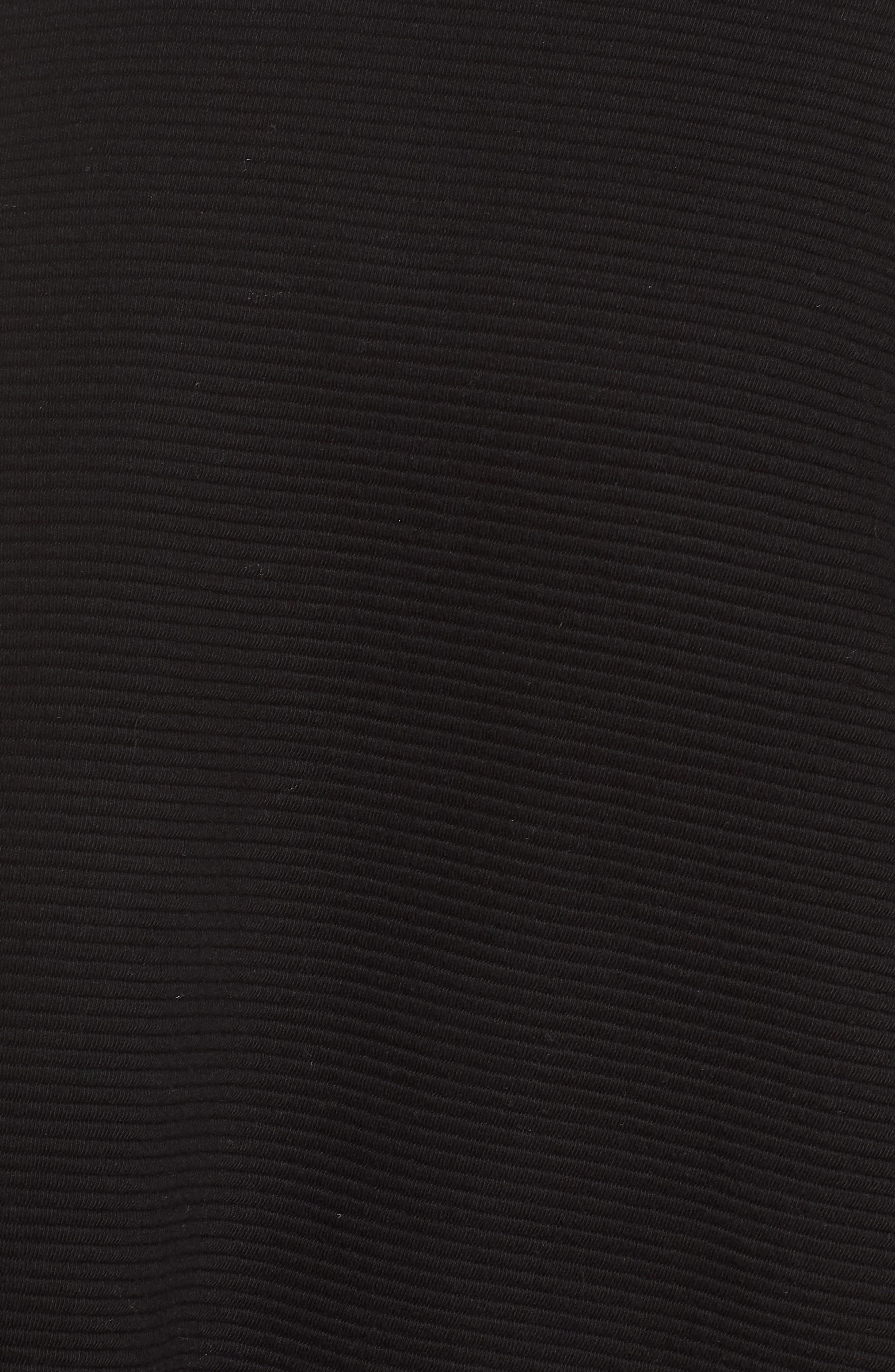 Jenny Sweatshirt,                             Alternate thumbnail 6, color,                             BLACK