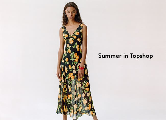 Summer in Topshop: cool midi dresses and more.