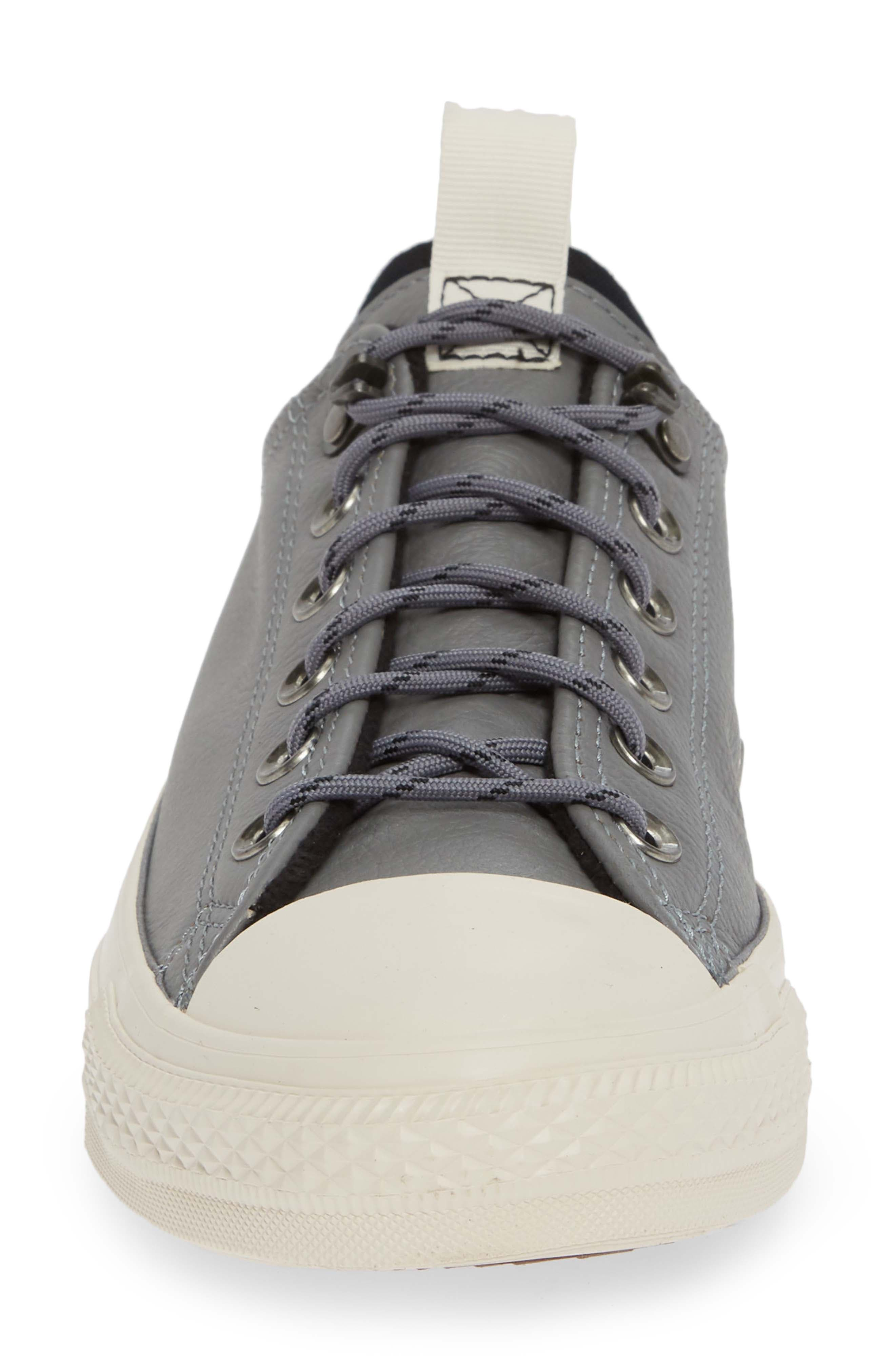 Chuck Taylor<sup>®</sup> All Star<sup>®</sup> Desert Storm Ox Sneaker,                             Alternate thumbnail 4, color,                             WHITE/ LIGHT FAWN/ EGRET