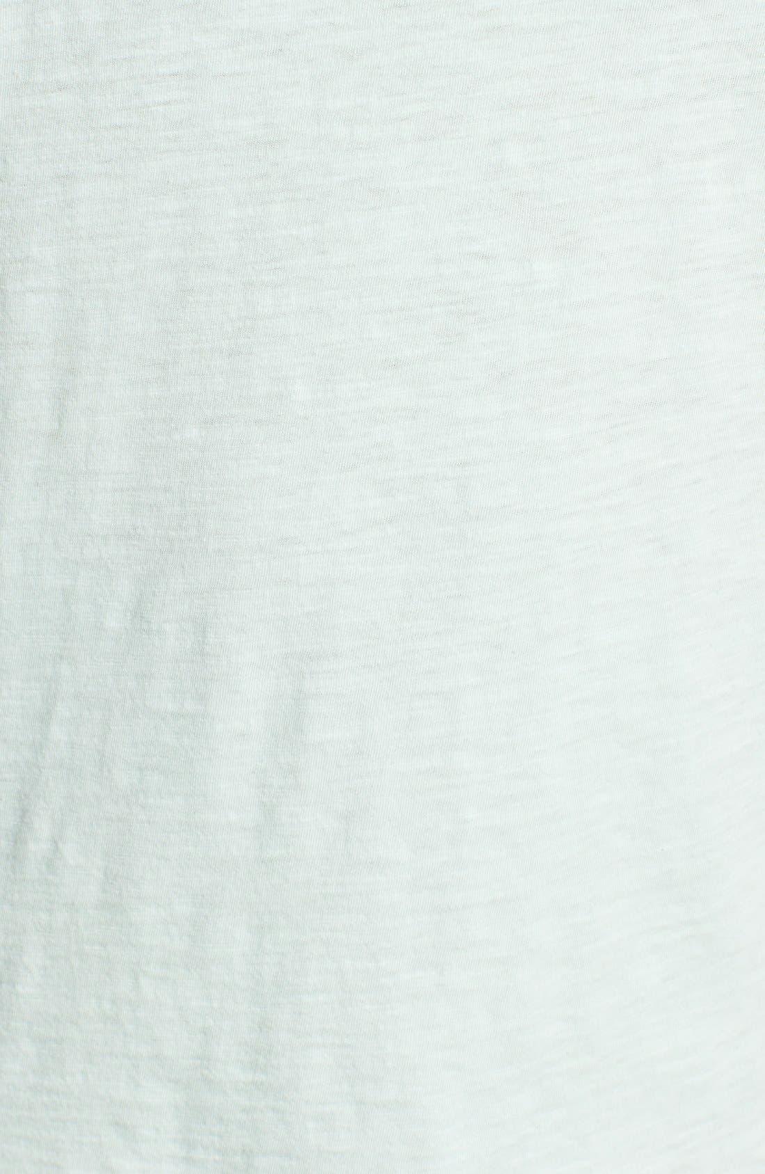 Organic Cotton V-Neck Tee,                             Alternate thumbnail 118, color,
