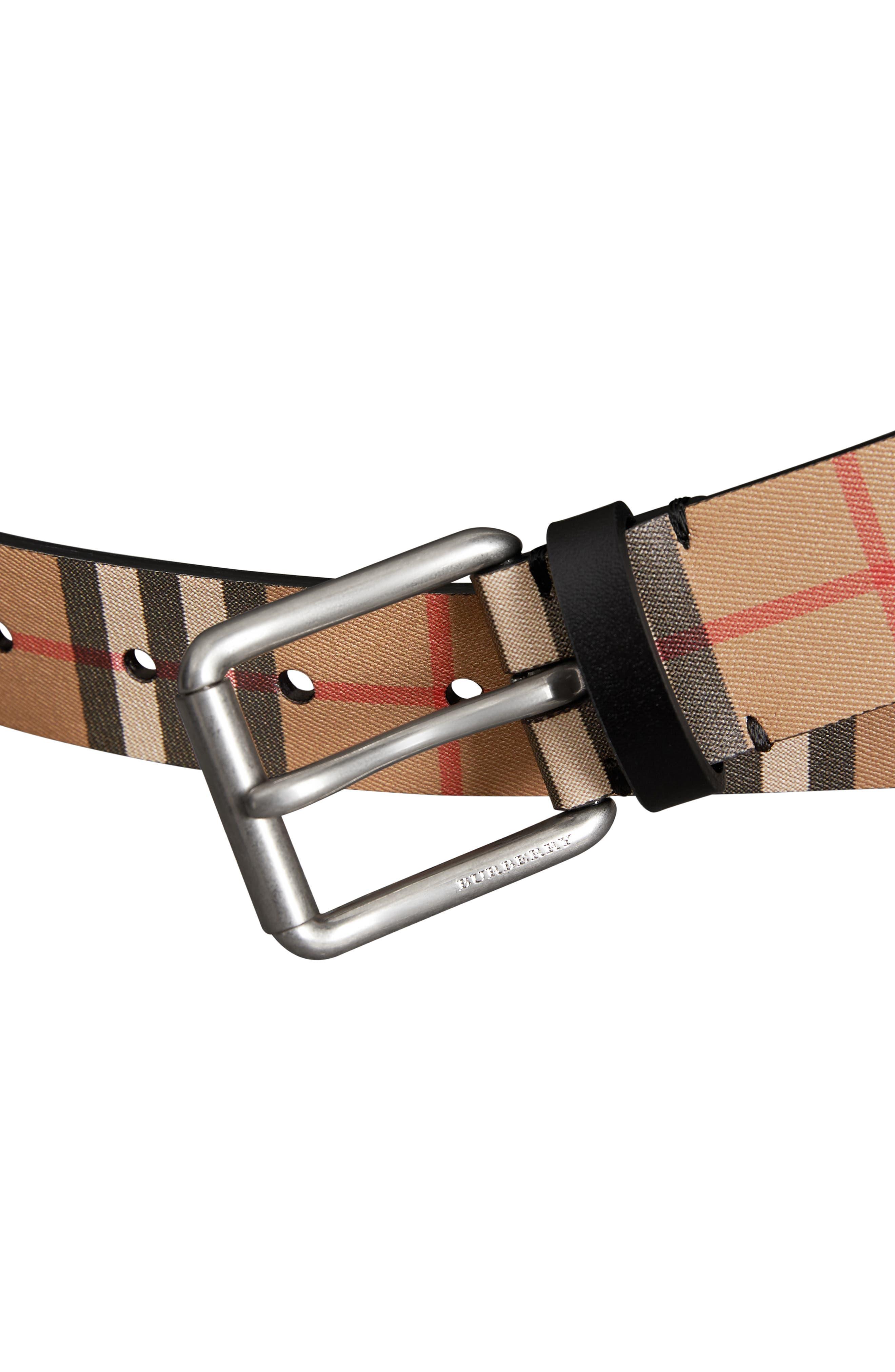 Mark Belt,                             Alternate thumbnail 3, color,                             BLACK