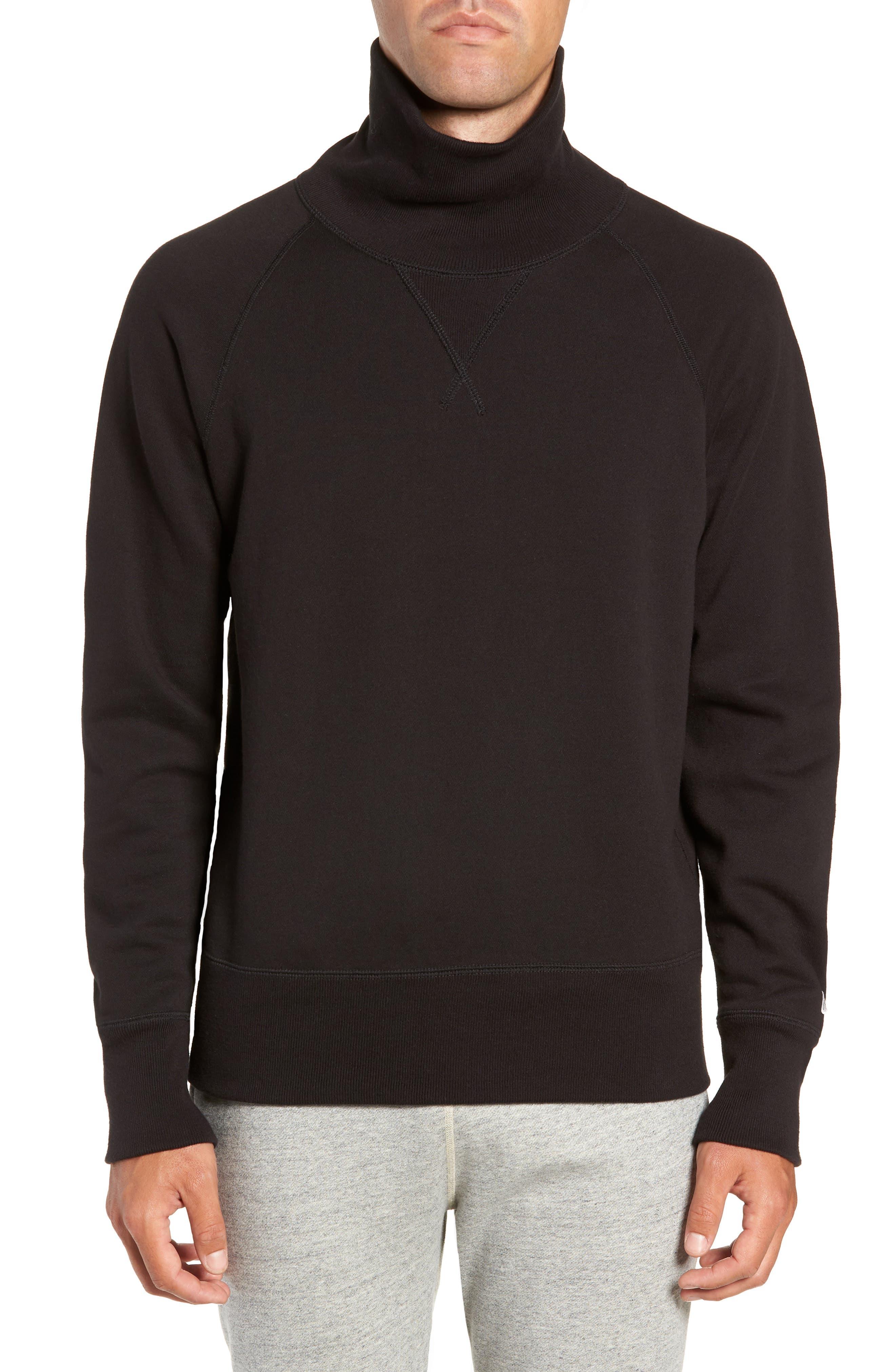 + Champion Turtleneck Sweatshirt,                             Main thumbnail 1, color,                             001