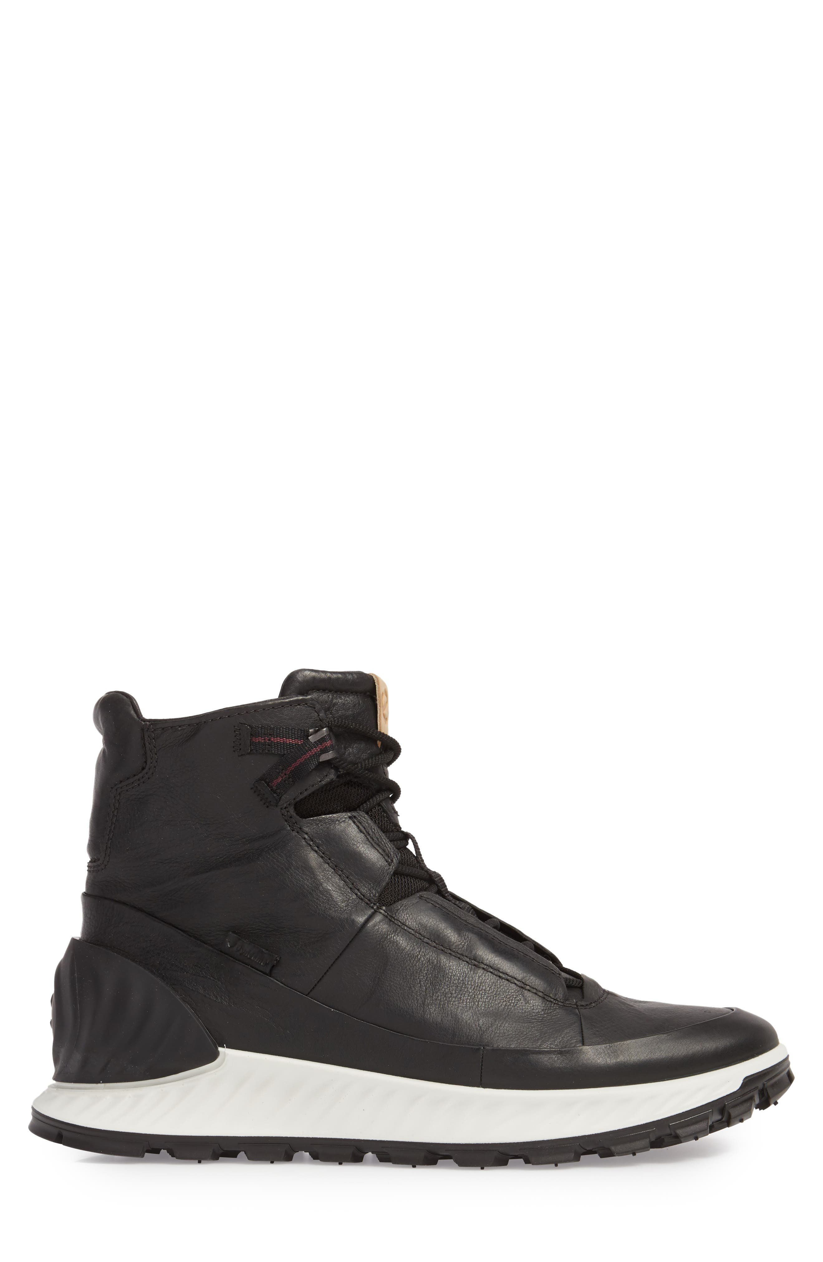 Limited Edition Exostrike Dyneema Sneaker Boot,                             Alternate thumbnail 3, color,                             BLACK LEATHER