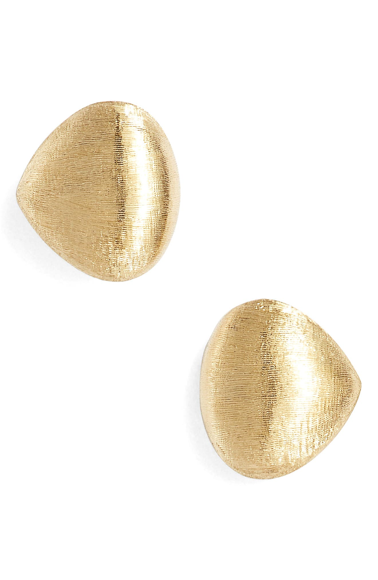 Paradise Stud Earrings,                         Main,                         color, YELLOW GOLD