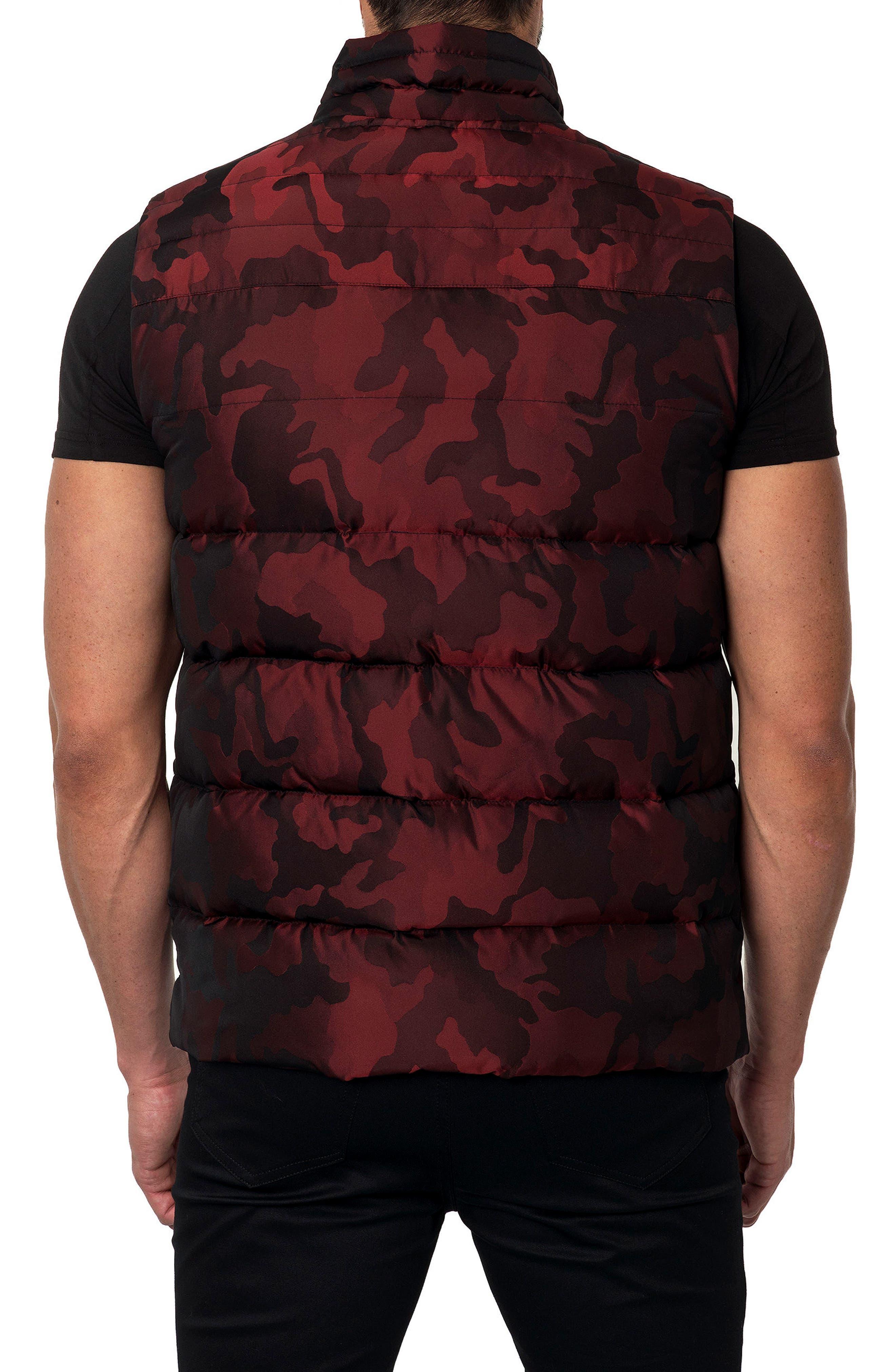 Camo Down Puffer Vest,                             Alternate thumbnail 7, color,