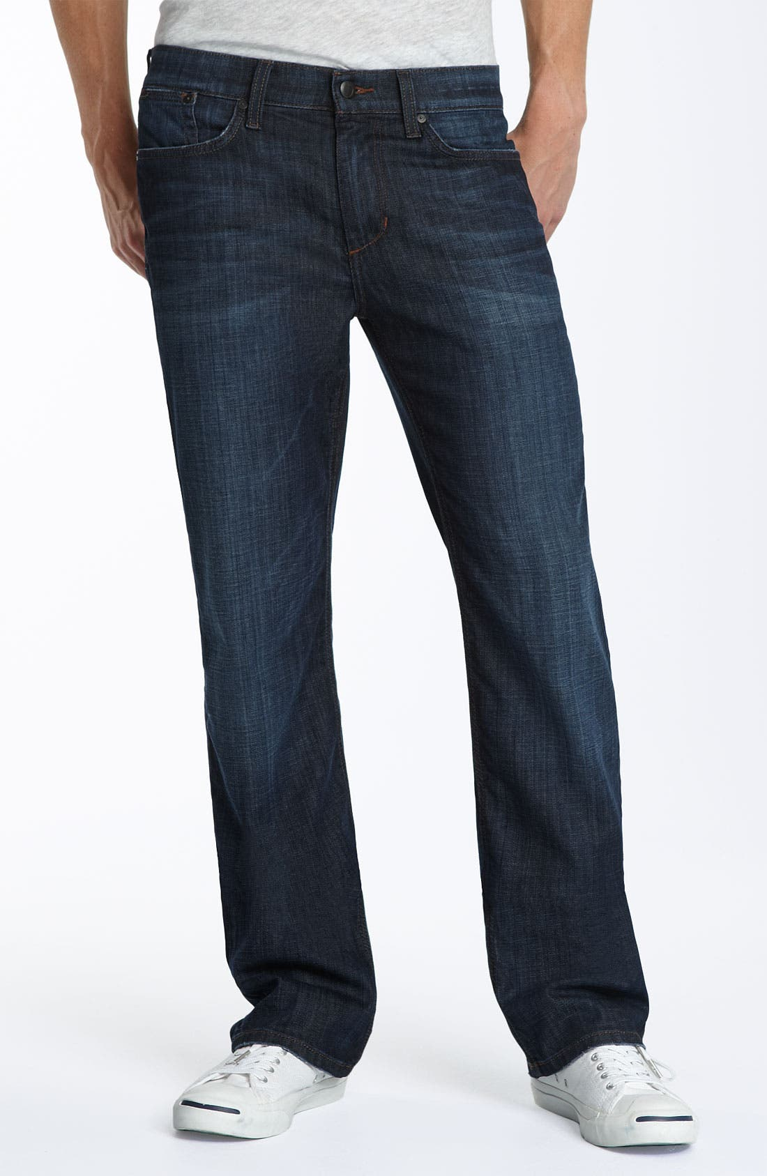 'Classic' Straight Leg Jeans,                             Main thumbnail 1, color,                             403