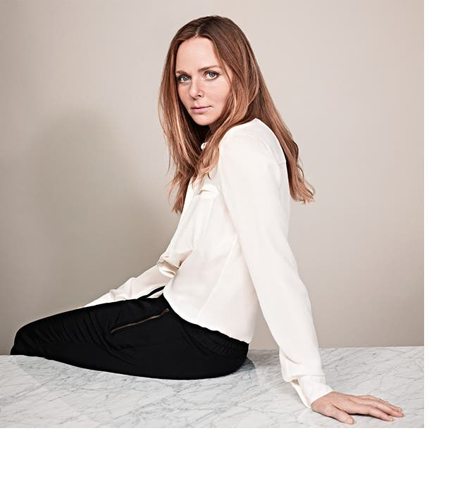 The designer Stella McCartney.