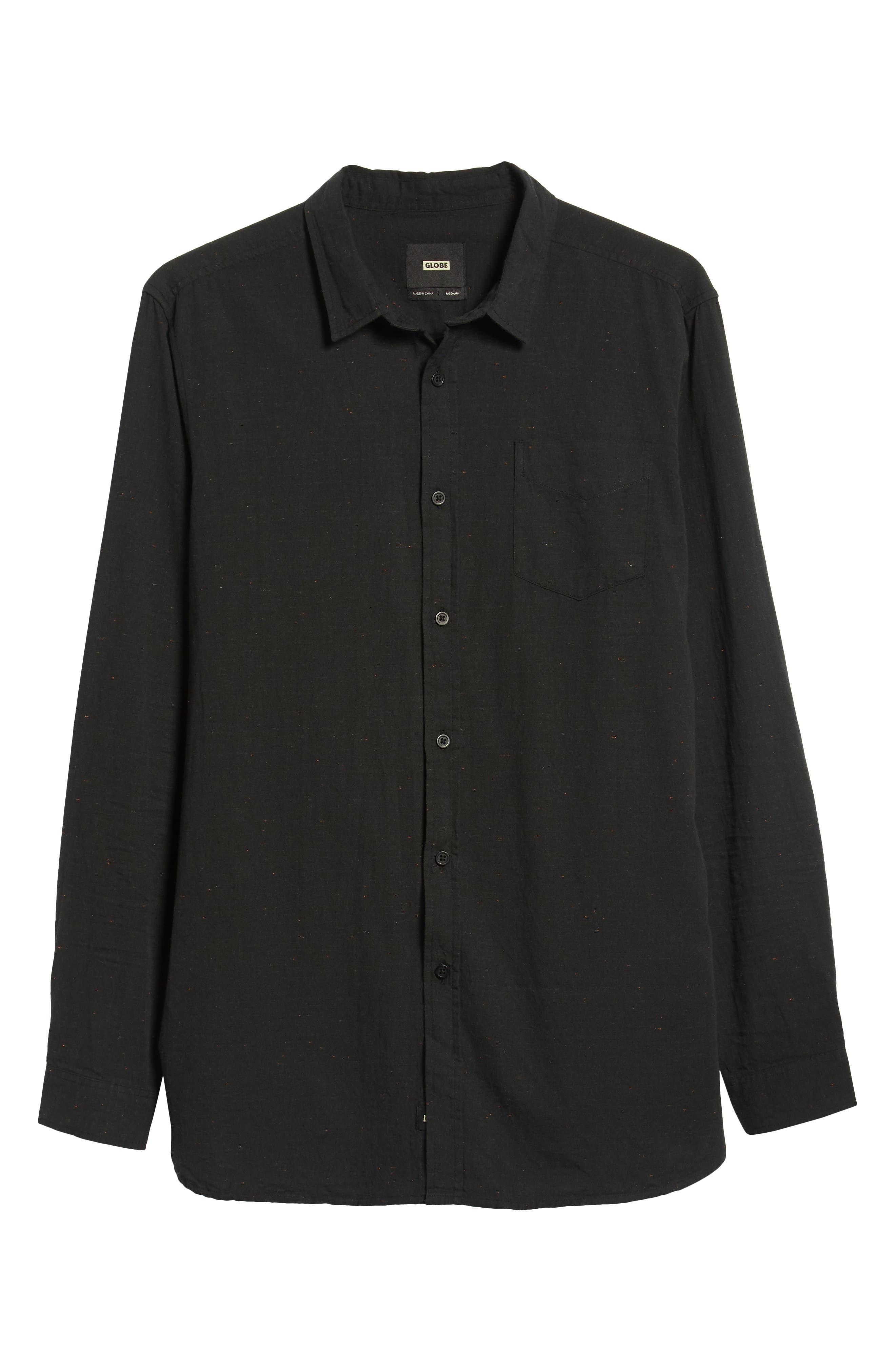 Goodstock Long Sleeve Shirt,                             Alternate thumbnail 6, color,                             LEAD