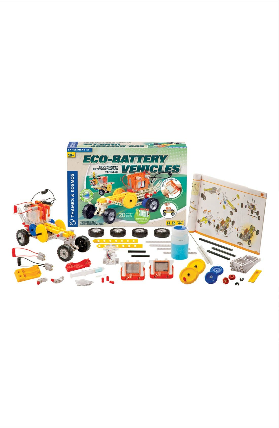 'Eco-Battery Vehicles' Experiment Kit,                             Main thumbnail 1, color,                             000