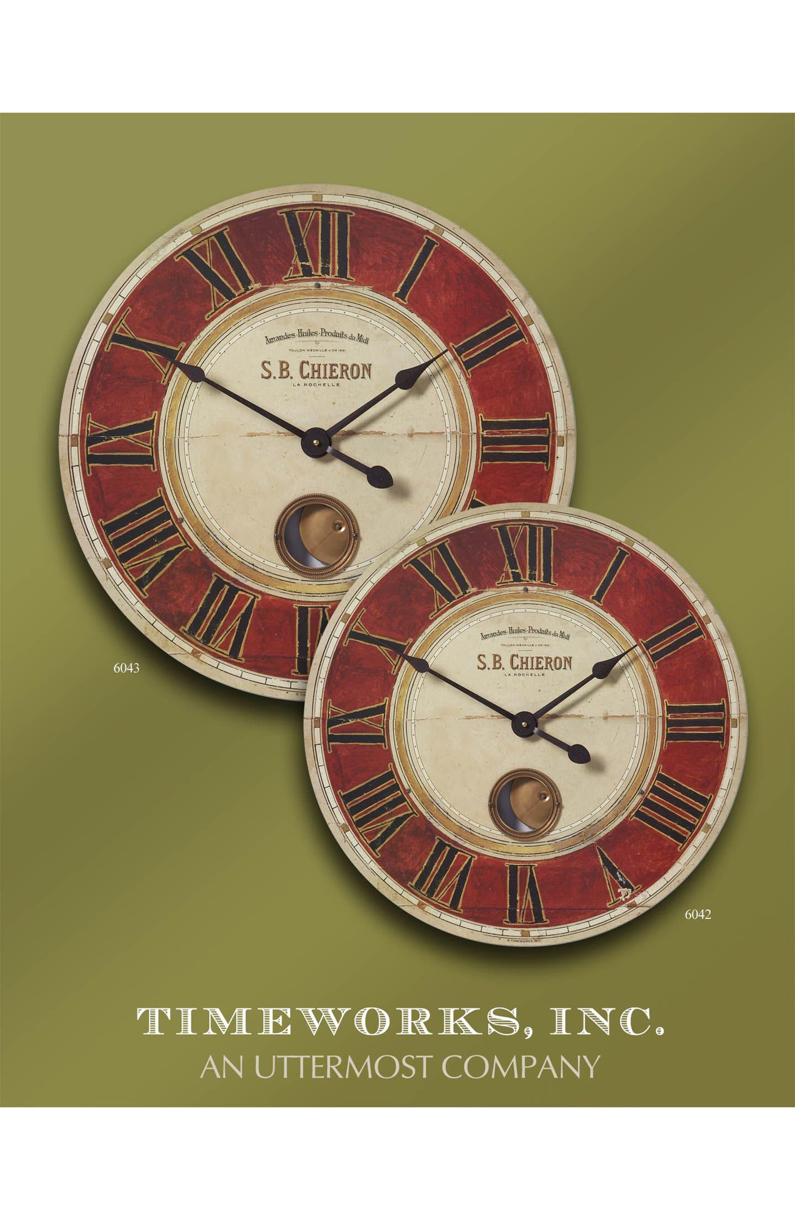 'Chieron' Wall Clock,                             Alternate thumbnail 4, color,                             600