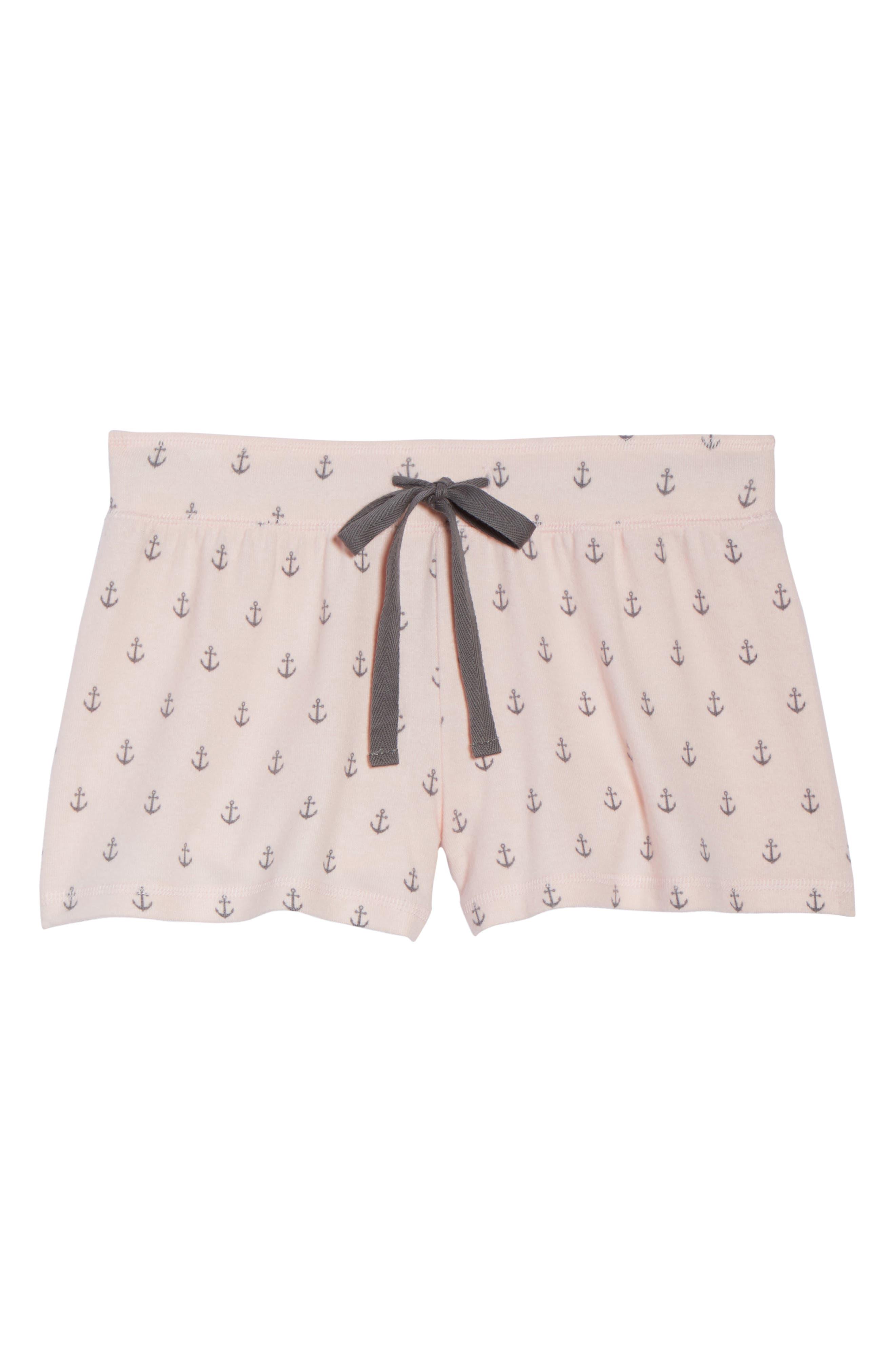 Peachy Pajama Shorts,                             Alternate thumbnail 18, color,