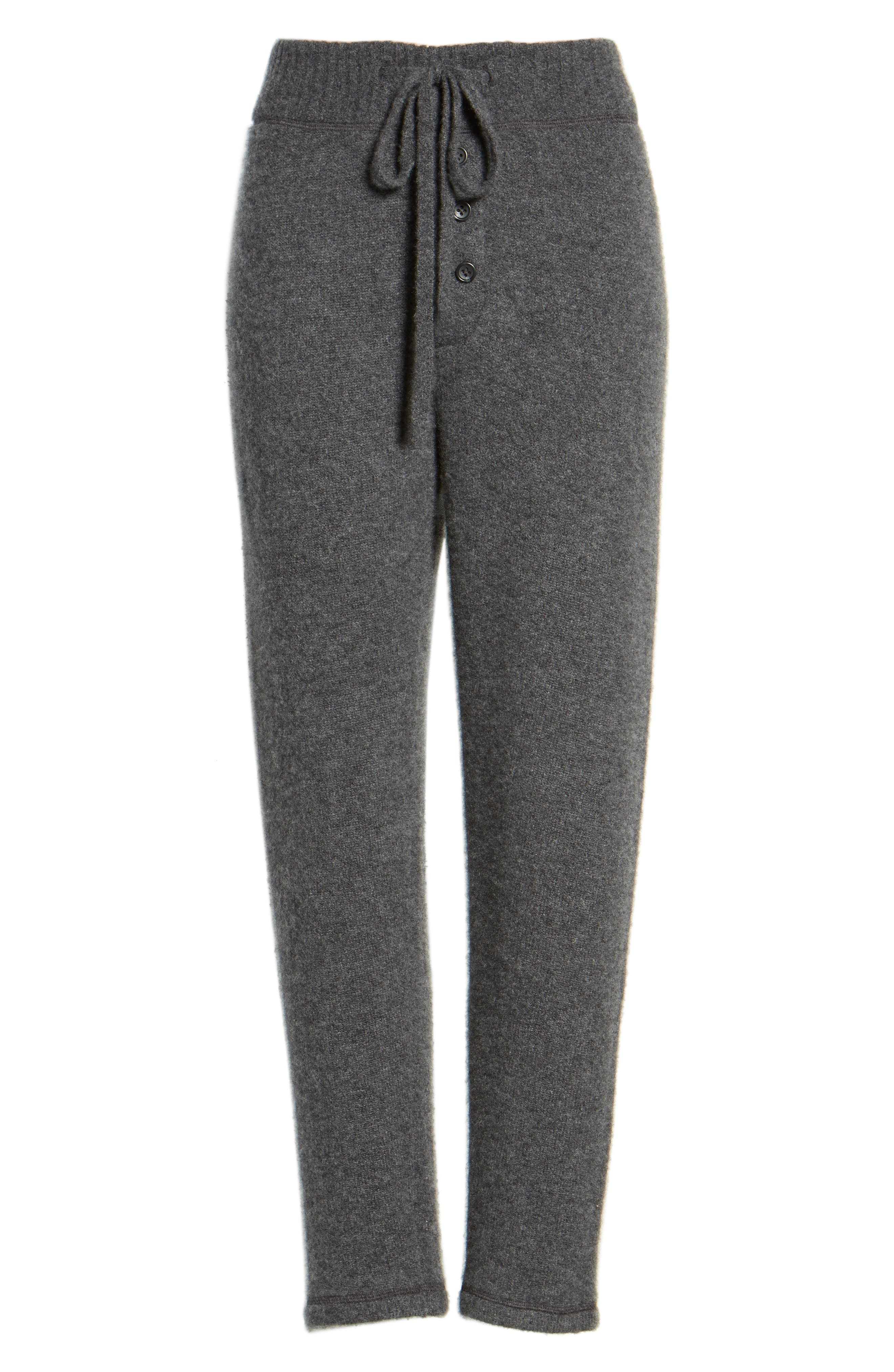 Brushed Cashmere Sweatpants,                             Alternate thumbnail 6, color,                             069