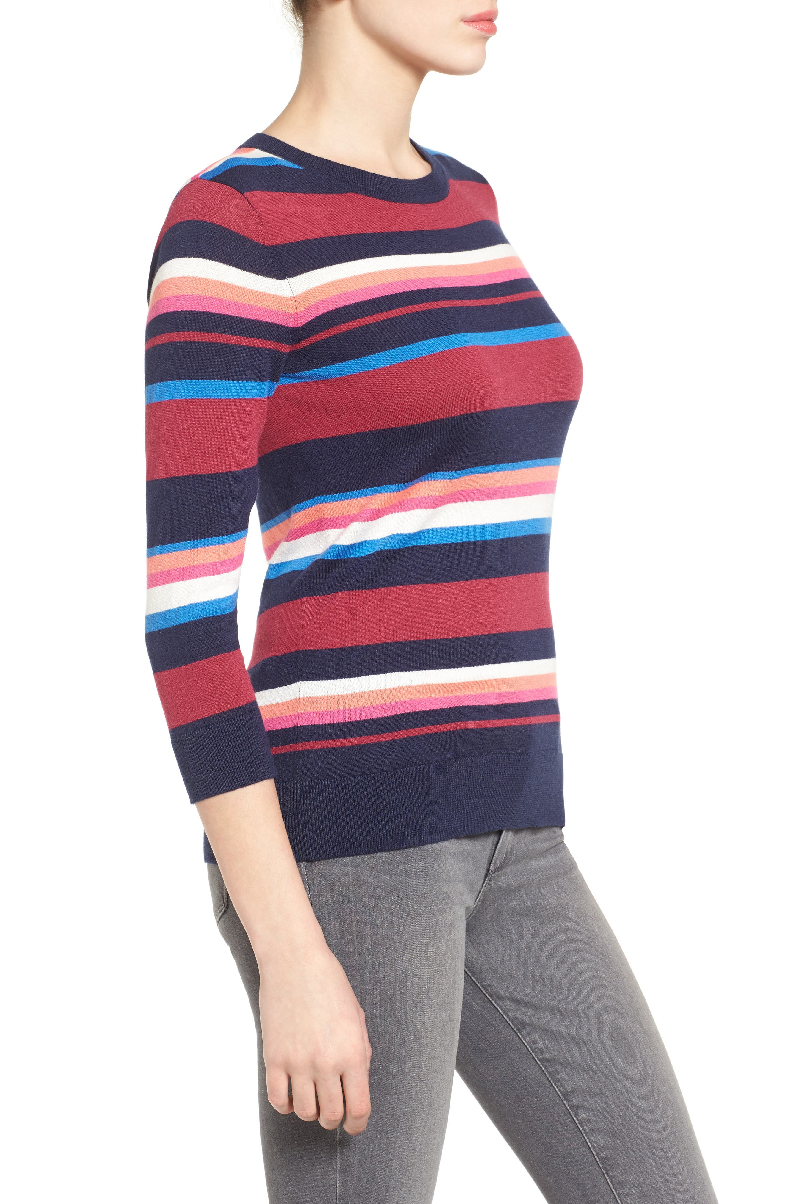 Cotton Blend Pullover,                             Alternate thumbnail 90, color,