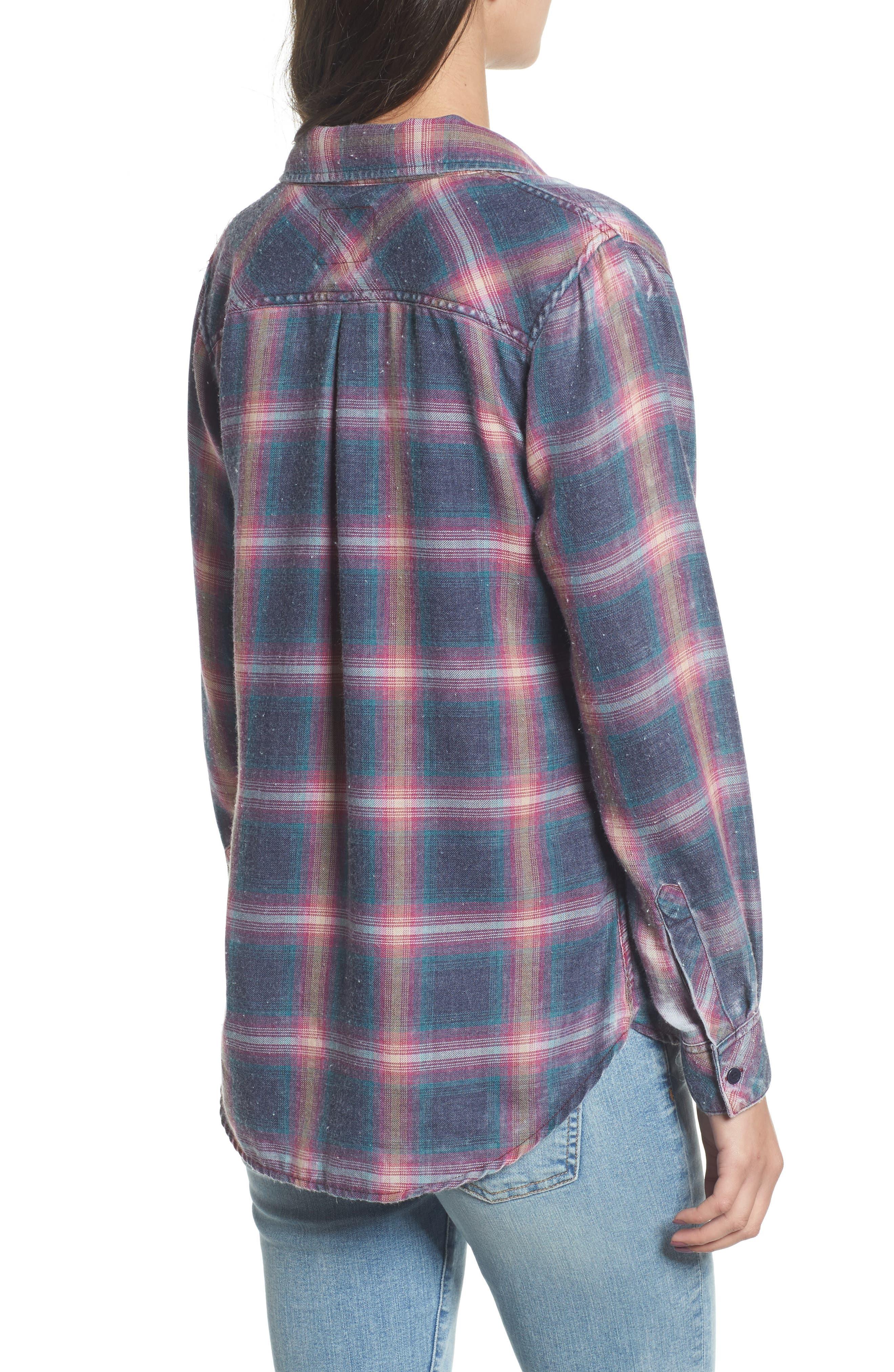 Hunter Plaid Shirt,                             Alternate thumbnail 201, color,