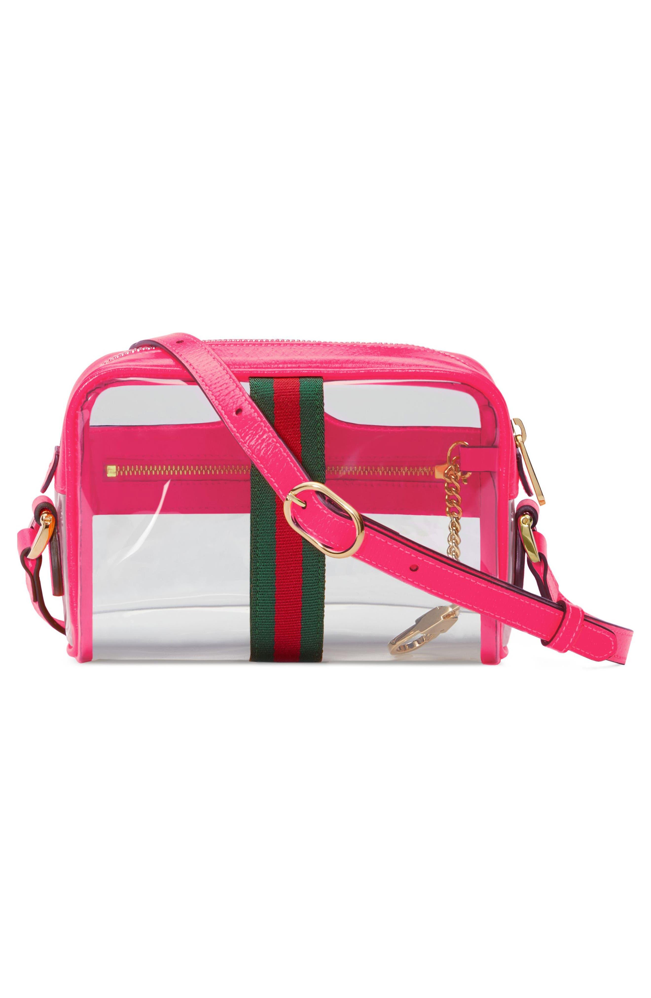 Mini Ophidia Transparent Convertible Bag,                             Alternate thumbnail 2, color,                             650
