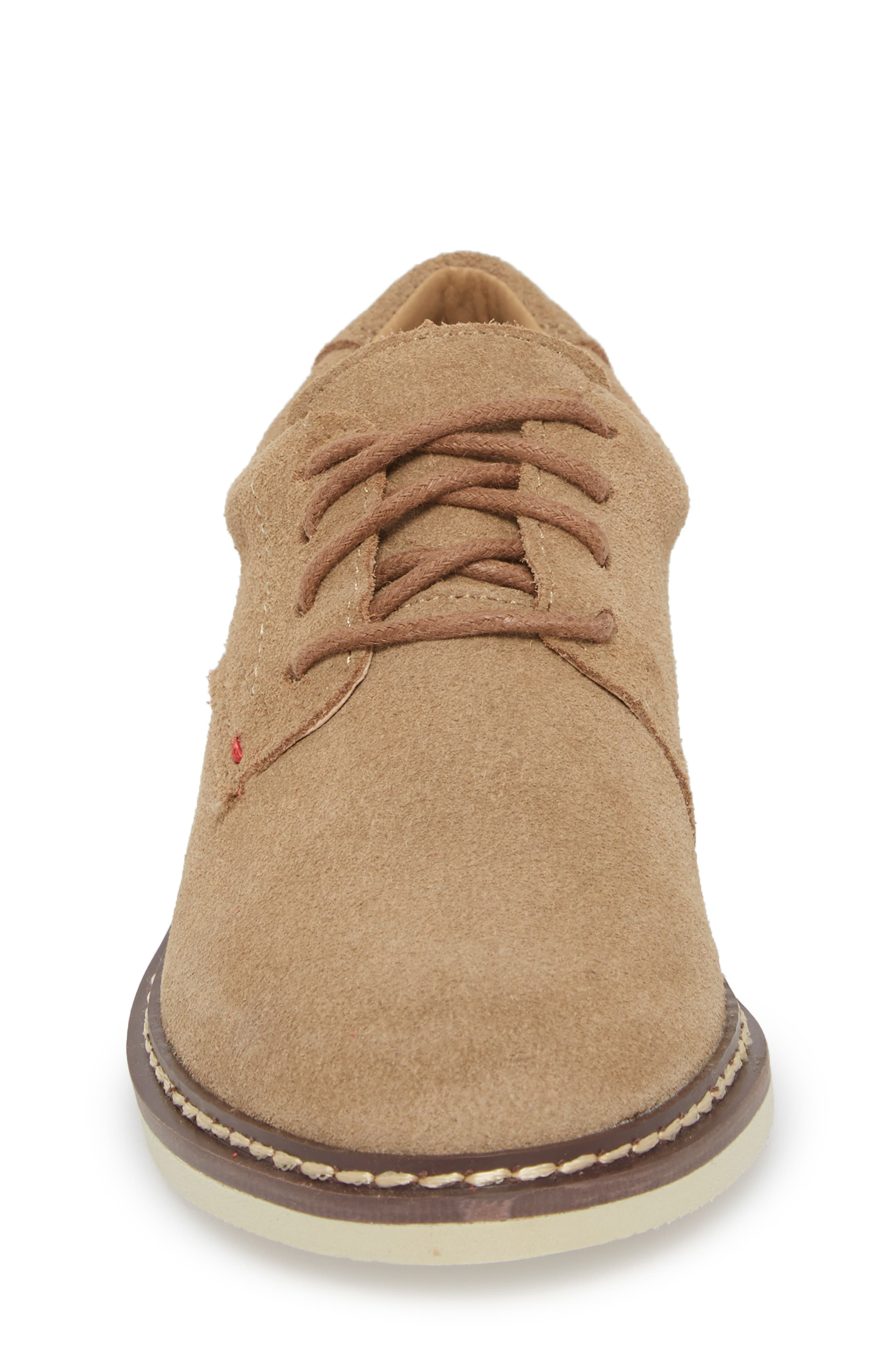 Preston Derby,                             Alternate thumbnail 4, color,                             TAUPE LEATHER