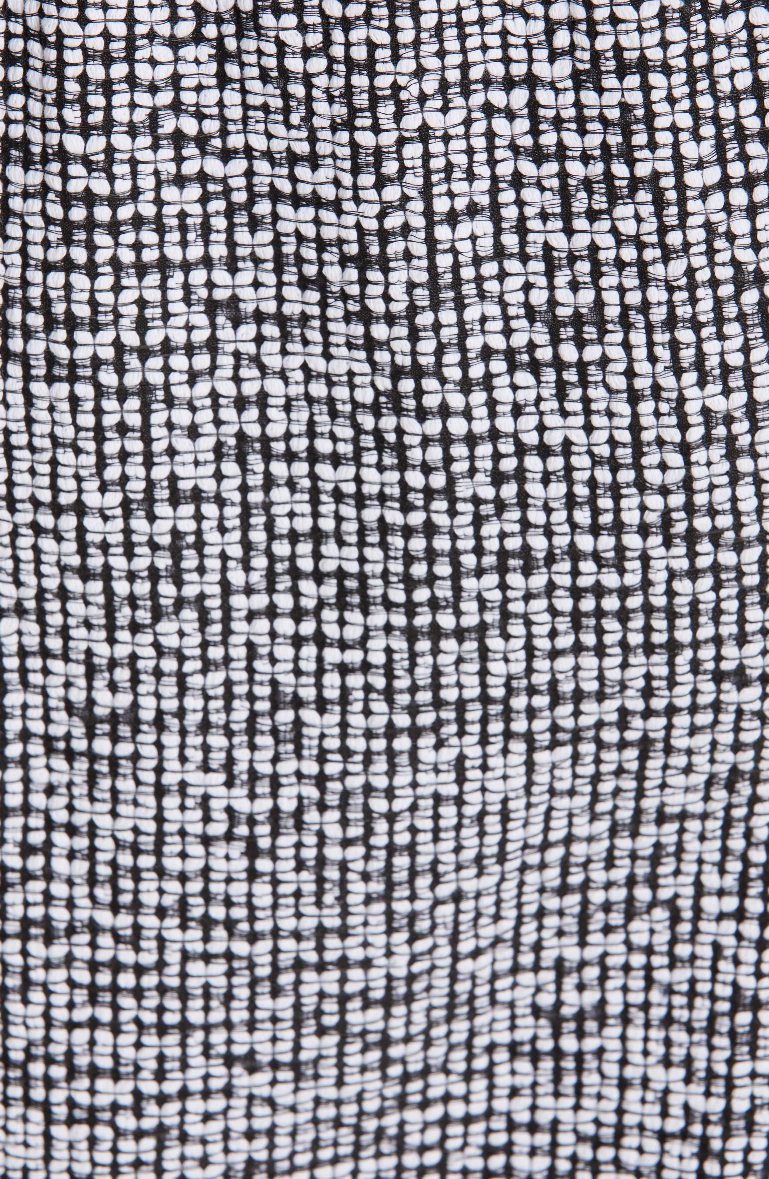 Mio Skirt,                             Alternate thumbnail 5, color,                             WHITE/ BLACK
